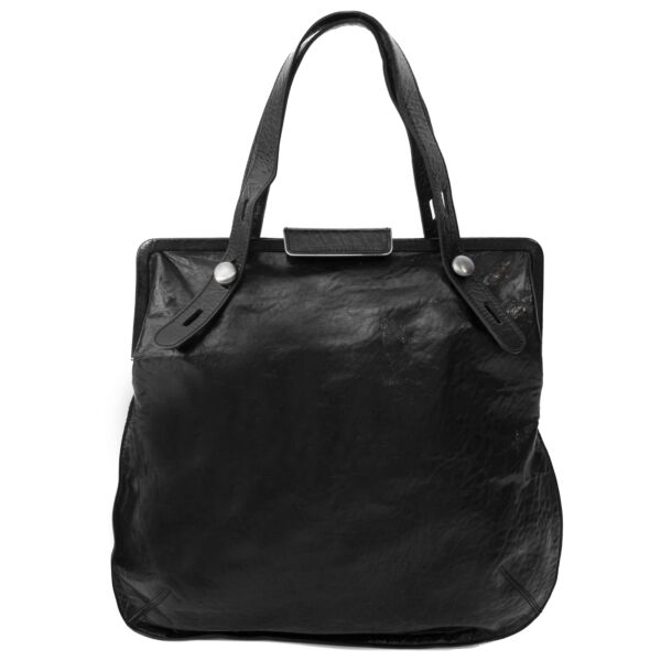 Buy authentic Marni Black Leather Bag secondhand at Labellov.