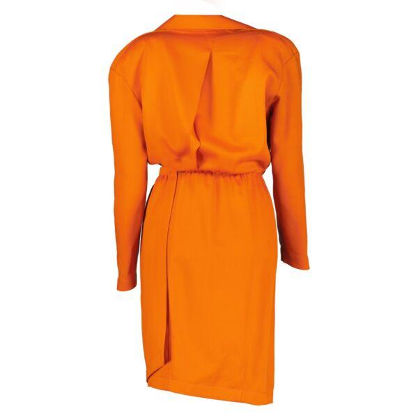 Thierry Mugler Orange Dress - Size 38