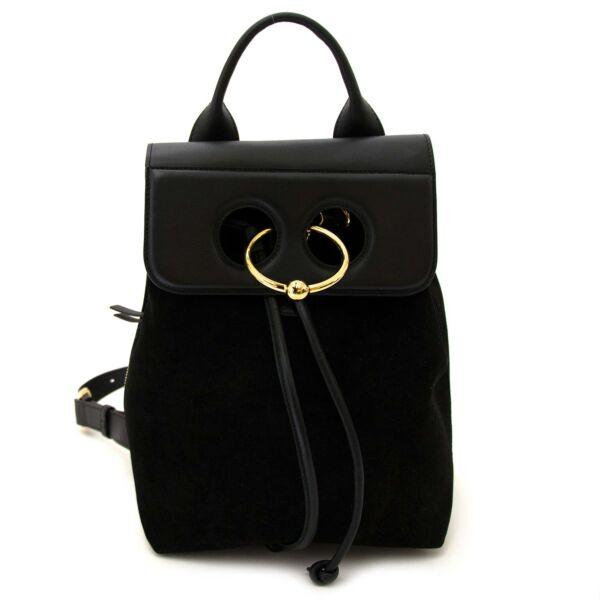 JW anderson mini pierce backpack black at labellov vintage fashion webshop belgium