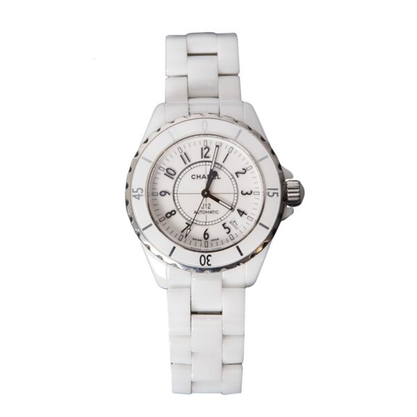 Chanel J12 Automatic h0970 White Ceramiic Watch