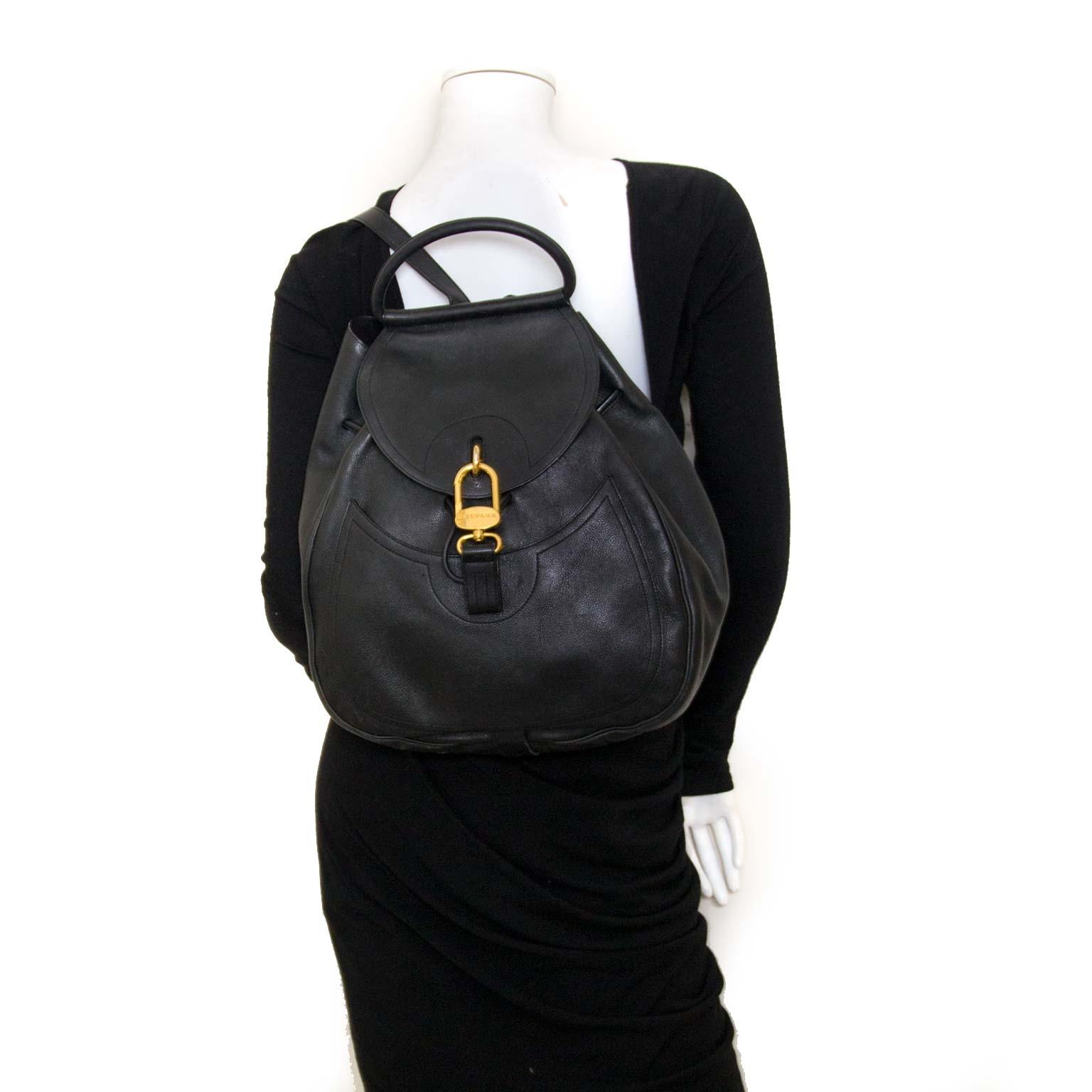 Delvaux Black Cerceau Bag acheter en ligne chez labellov.com pour le meilleur prix