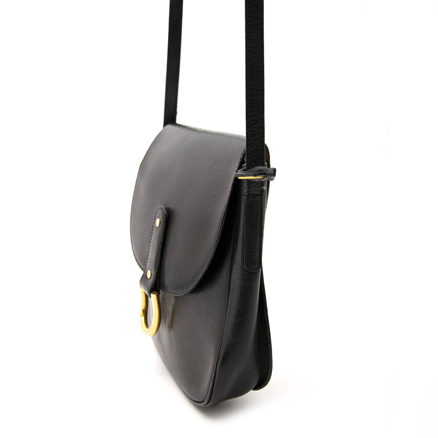 Buy a secondhand Delvaux black crossbody bag online
