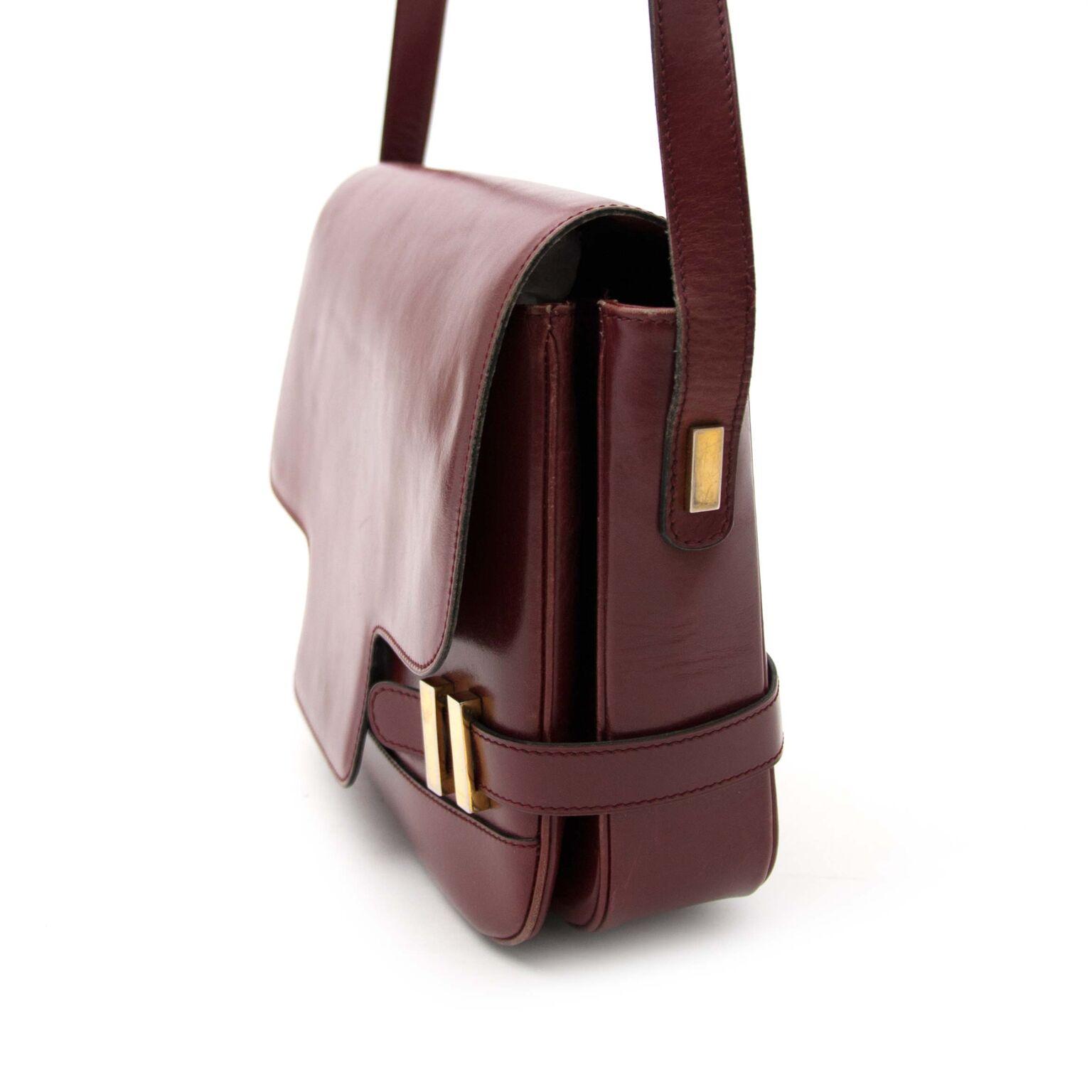 Buy now a authentic vintage Delvaux handbag