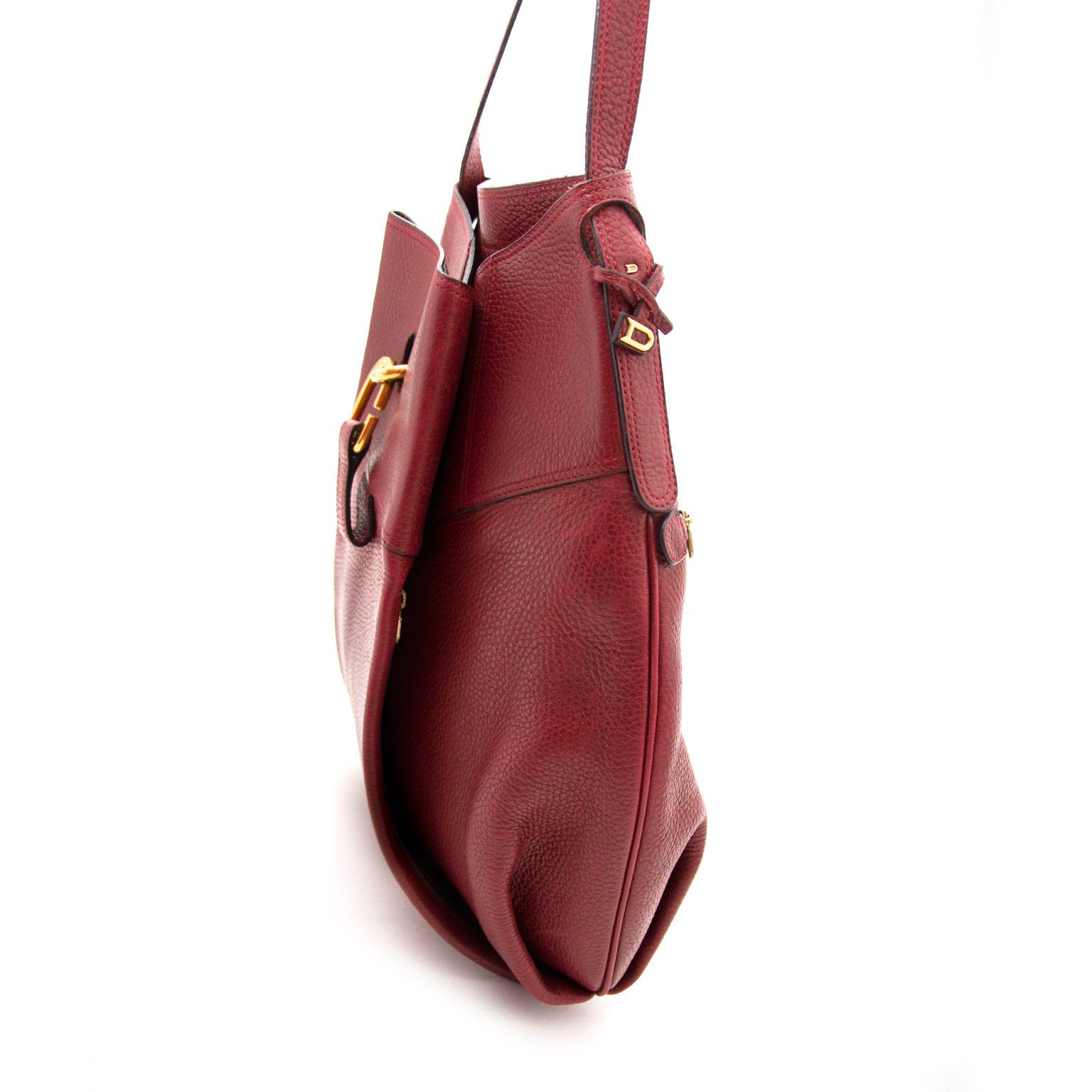 Delvaux Bordaux Faust Bag aan de beste prijs