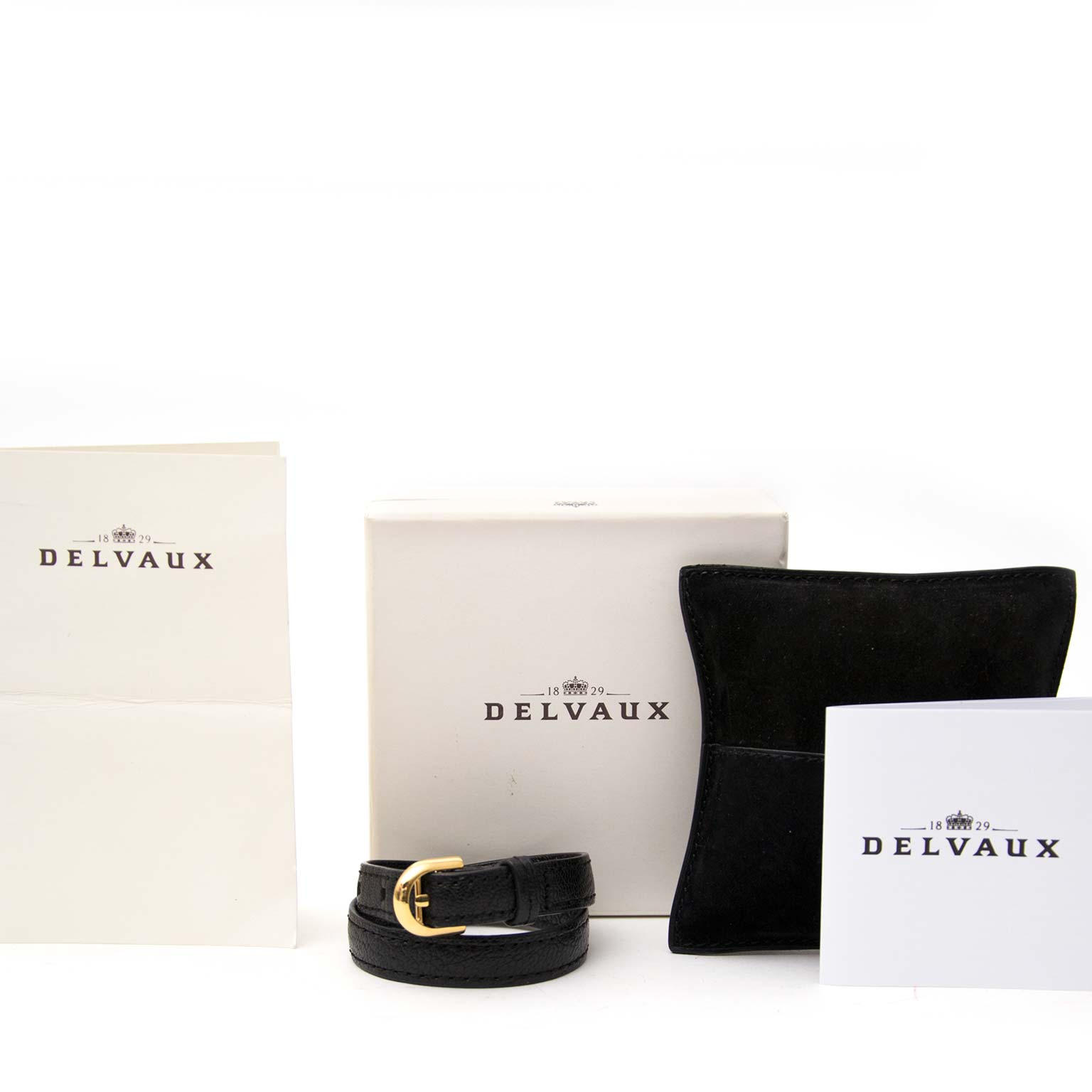 Are you interested in an authentic Delvaux Brillant Double Tour Bracelet?