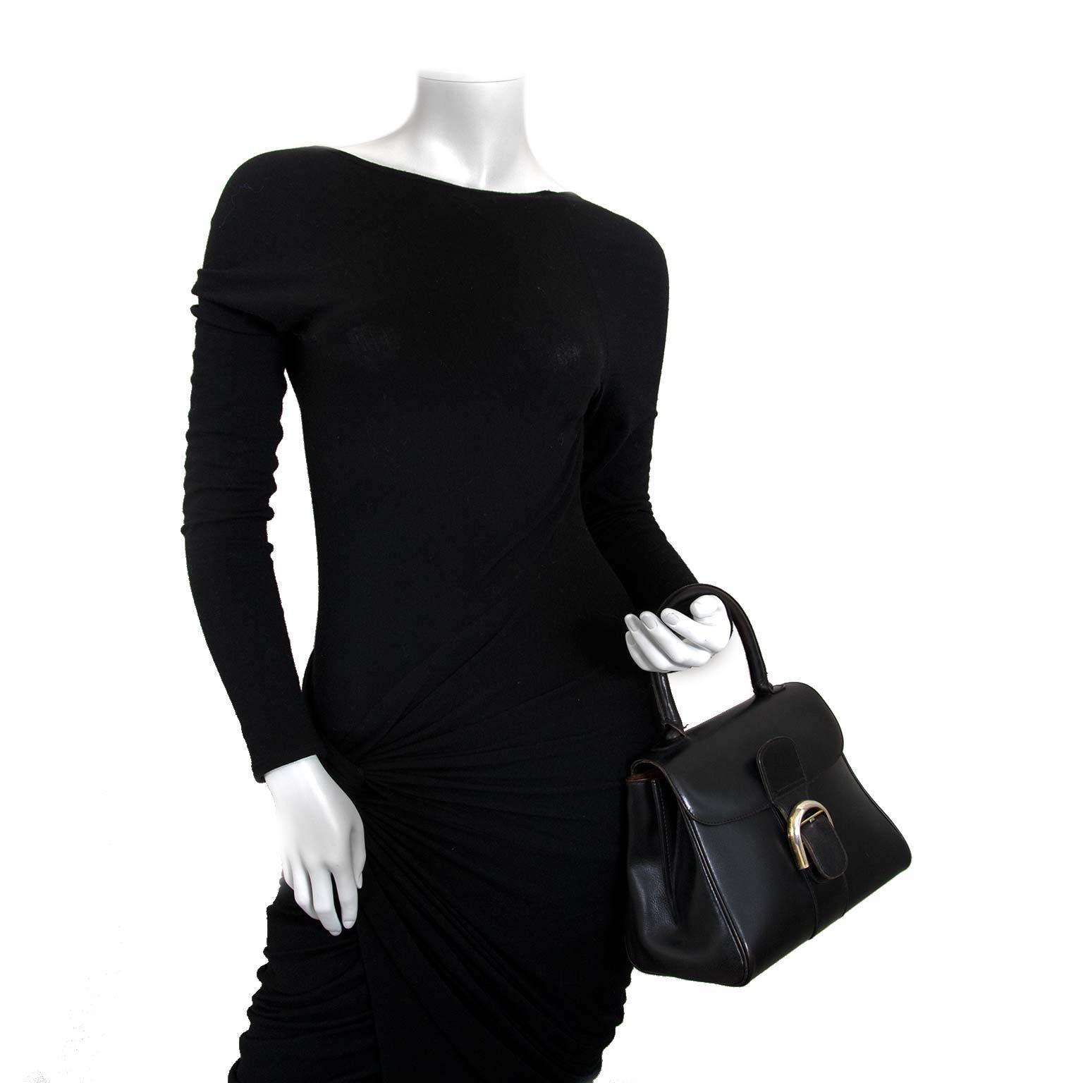 delvaux brillant vintage black pm bag now for sale at labellov vintage fashion webshop belgium