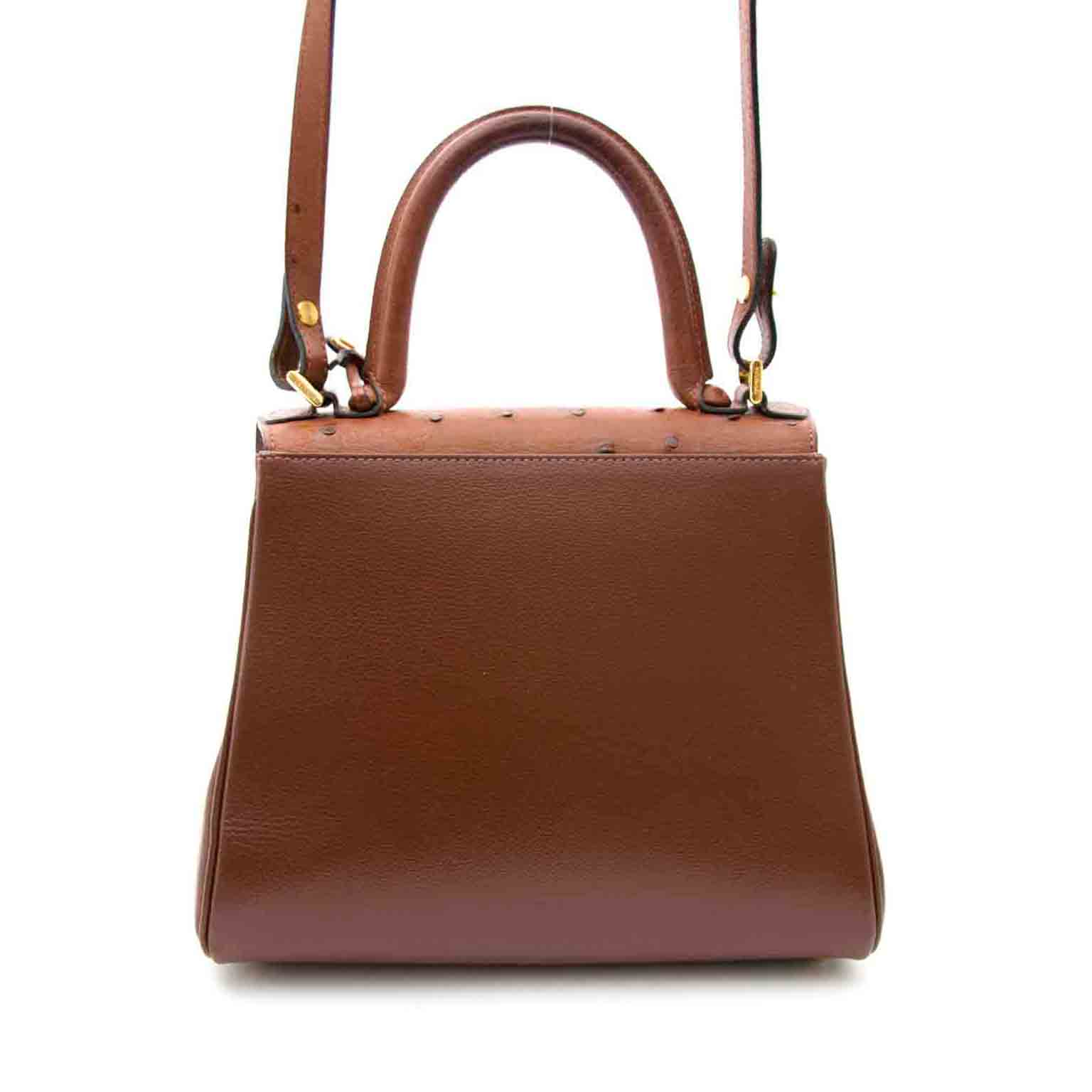 delvaux brillant pm ostrich now online at labellov.com for the best price