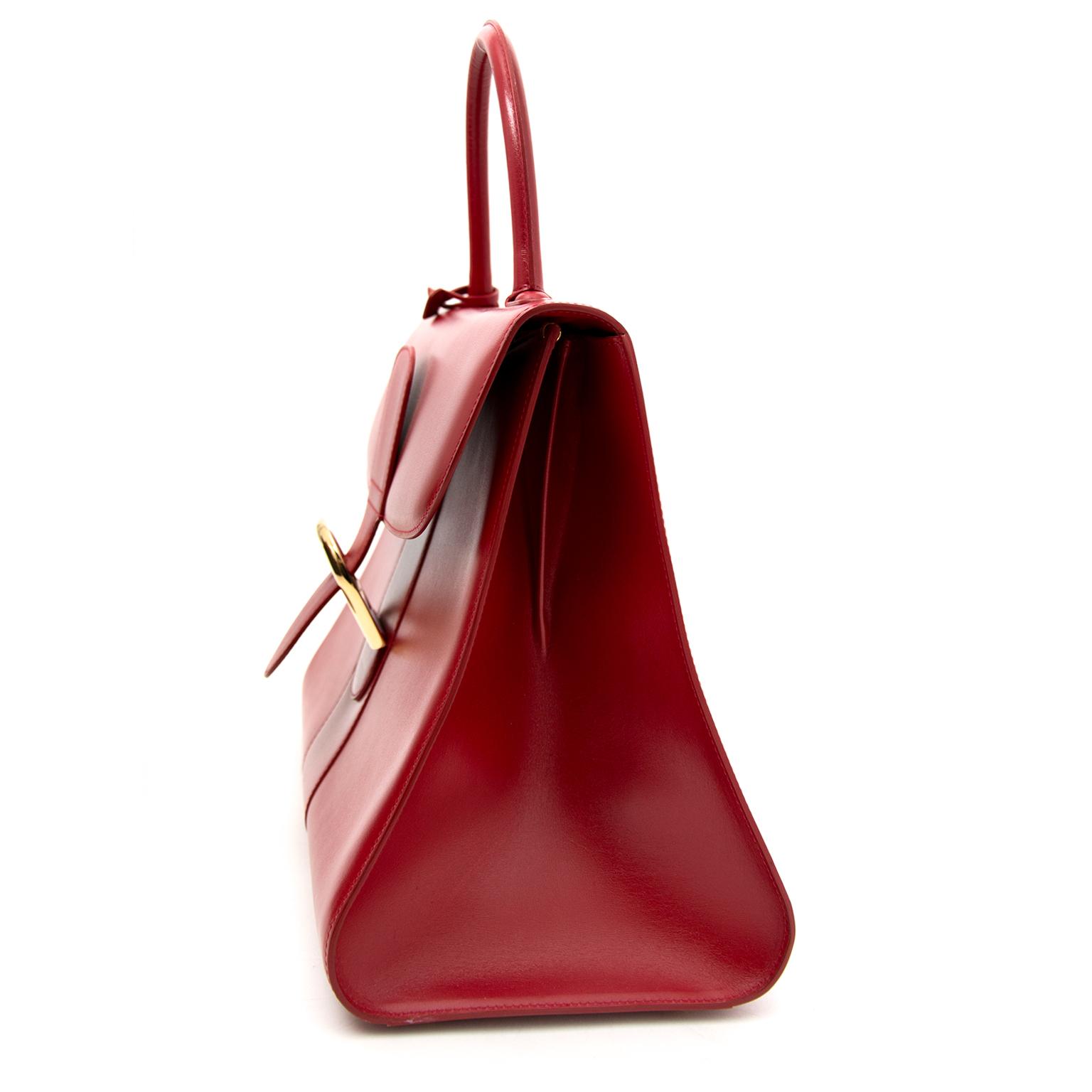 koop veilig online aan de beste prijs As New Delvaux Red Brillant GM