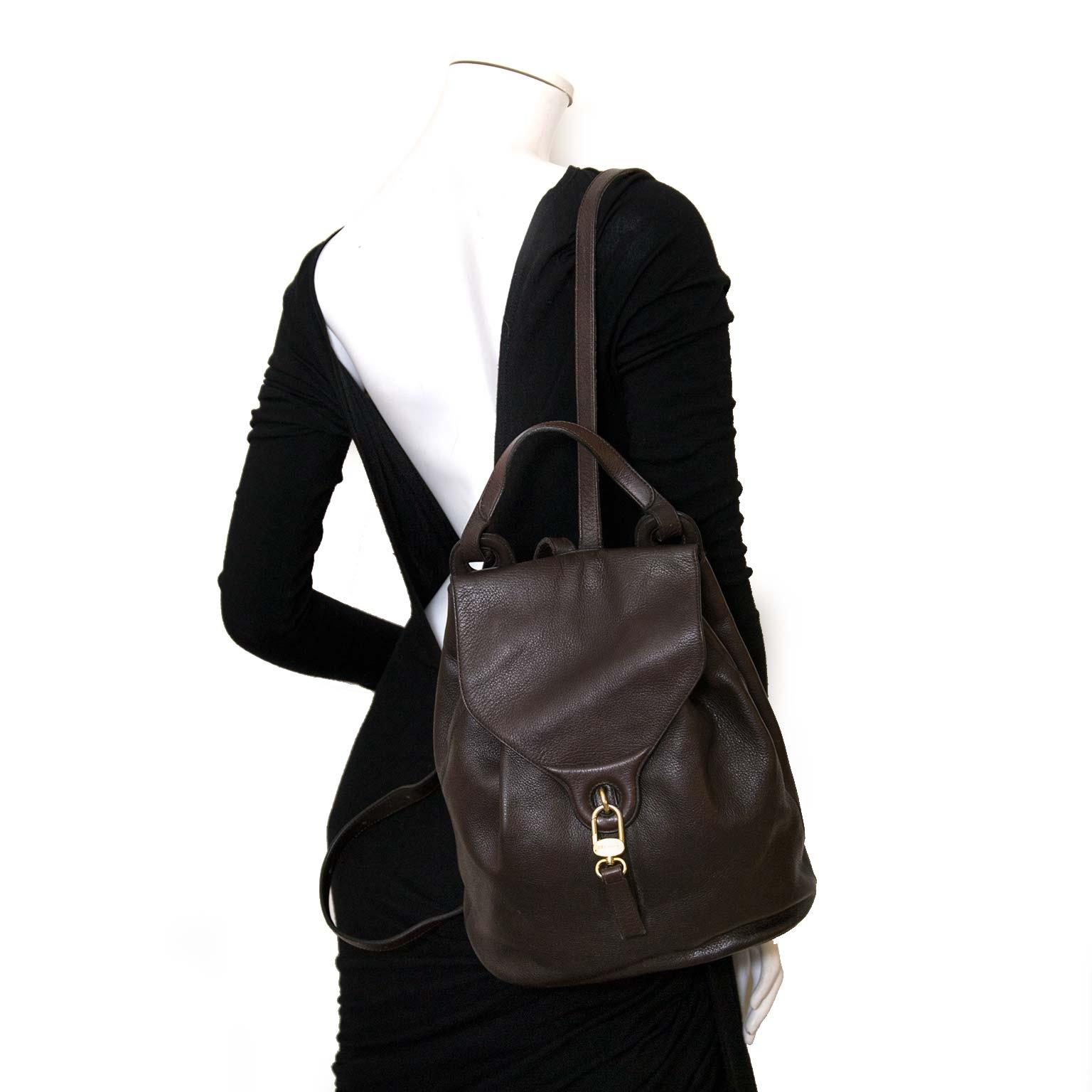 Delvaux rugzakken nu online bij Labellov vintage mode webshop