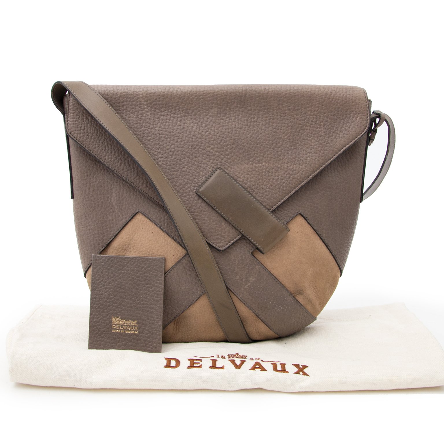 Looking for a Delvaux Taupe 'Delice' Bag?