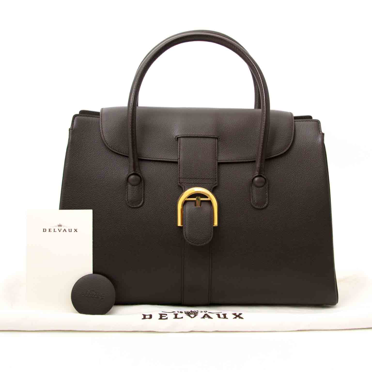 Looking for a Delvaux Brown Cabriolet Bag?