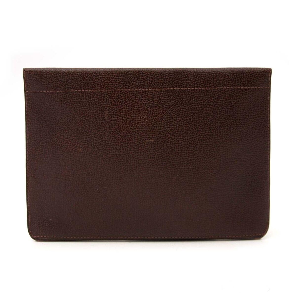 Koop authentieke tweedehands Delvaux clutch aan een eerlijke prijs bij LabelLOV. Veilig online shoppen.