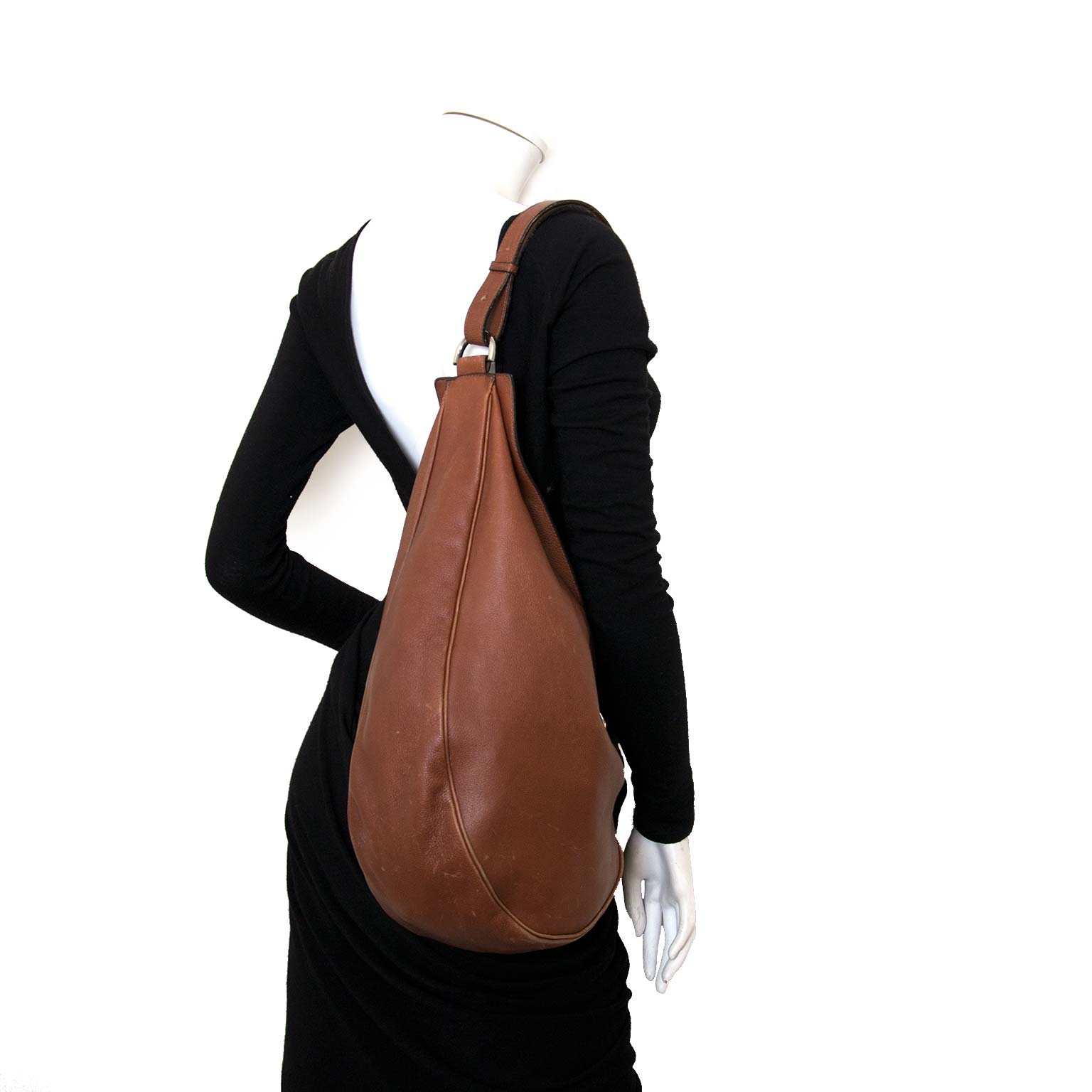 Buy and sell your Delvaux Brown Leather Banana Bag