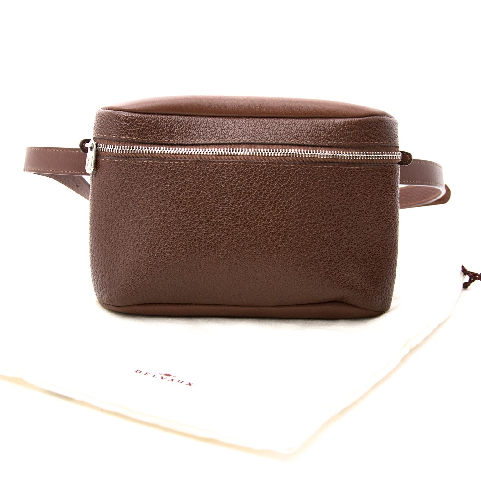 Acheter secur en ligne votre sac Delvaux Brown Hip Bag pour le meilleur prix
