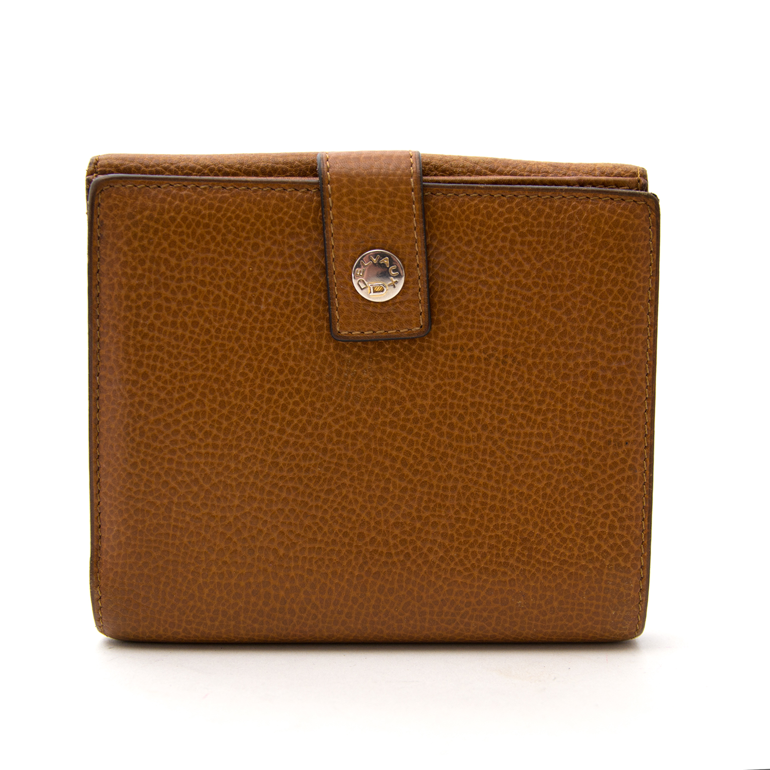 delvaux brown leather wallet now online for the best price at labellov.com