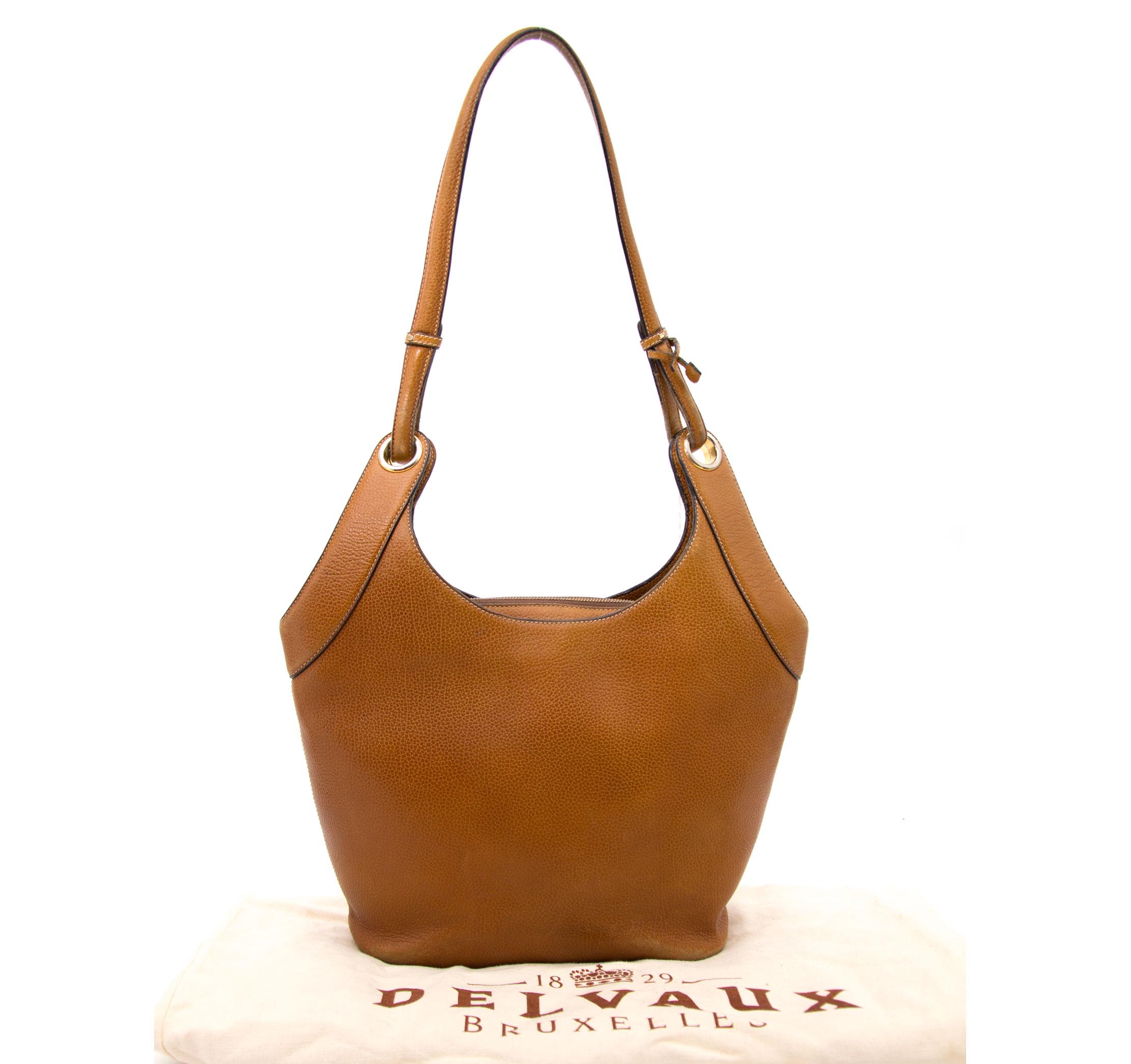 Buy a secondhand Delvaux Brown Shoulder Bag at Labellov.com