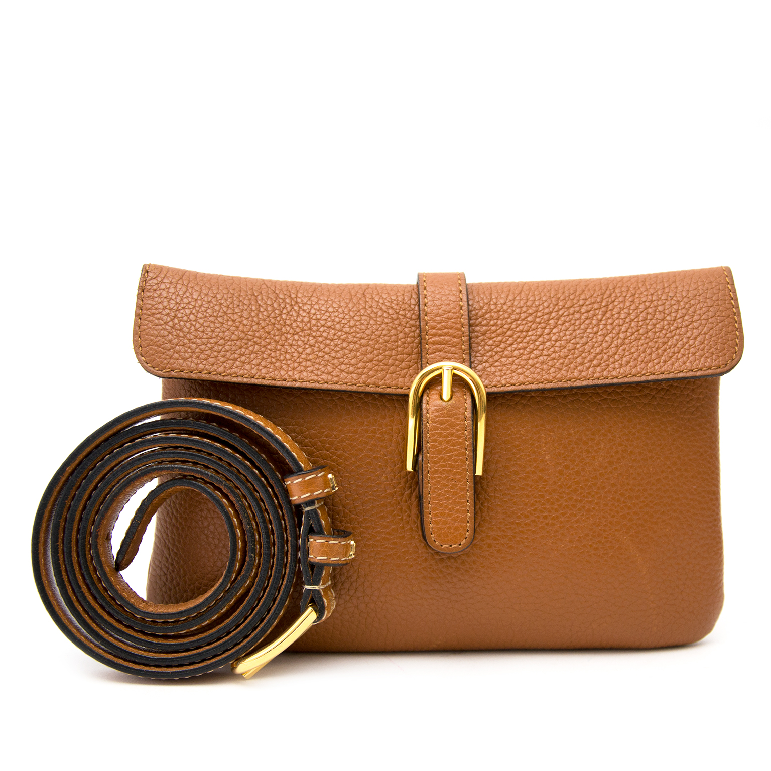 Delvaux Camel Belt Bag at the best price 2017