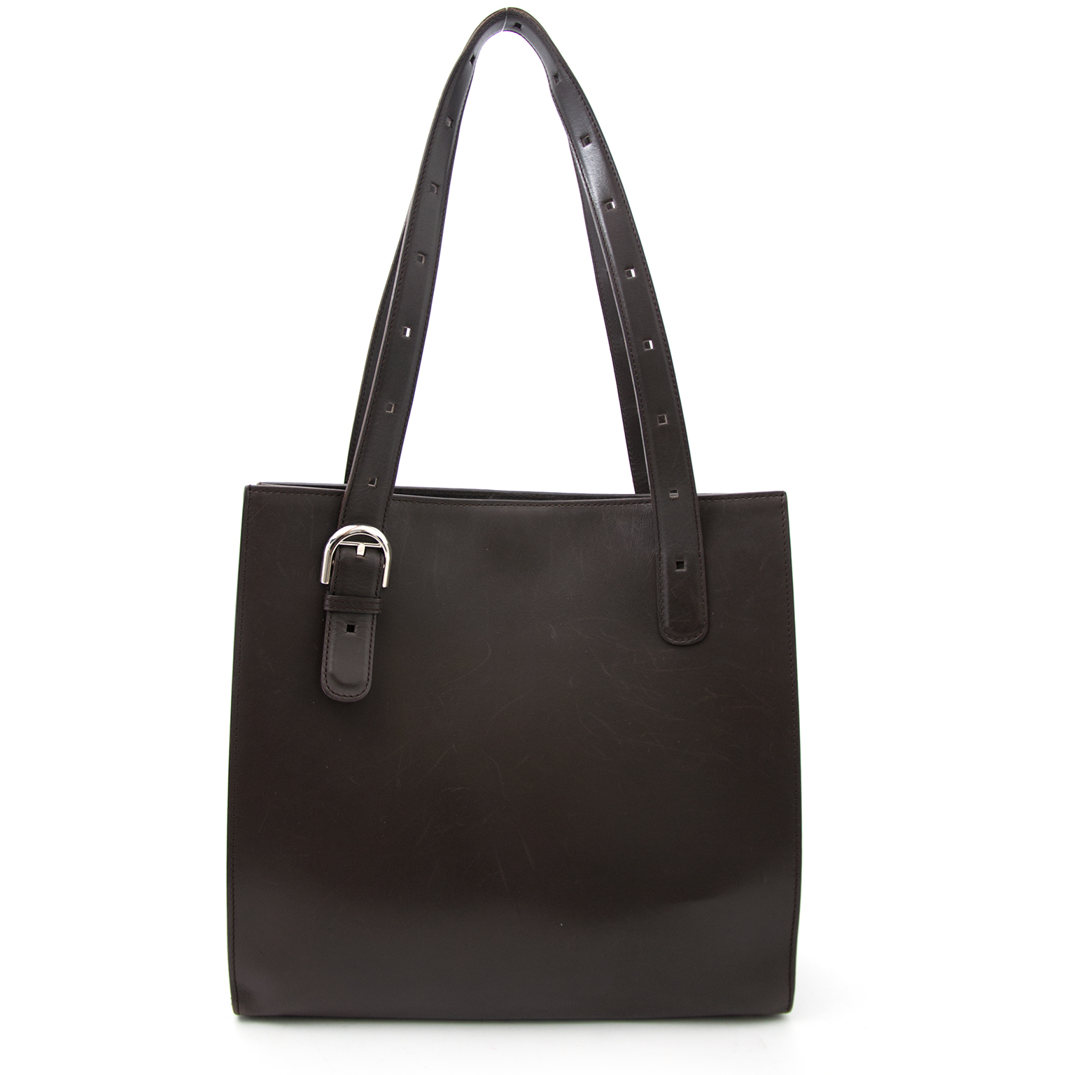 Looking for a Delvaux Dark Brown Tote?