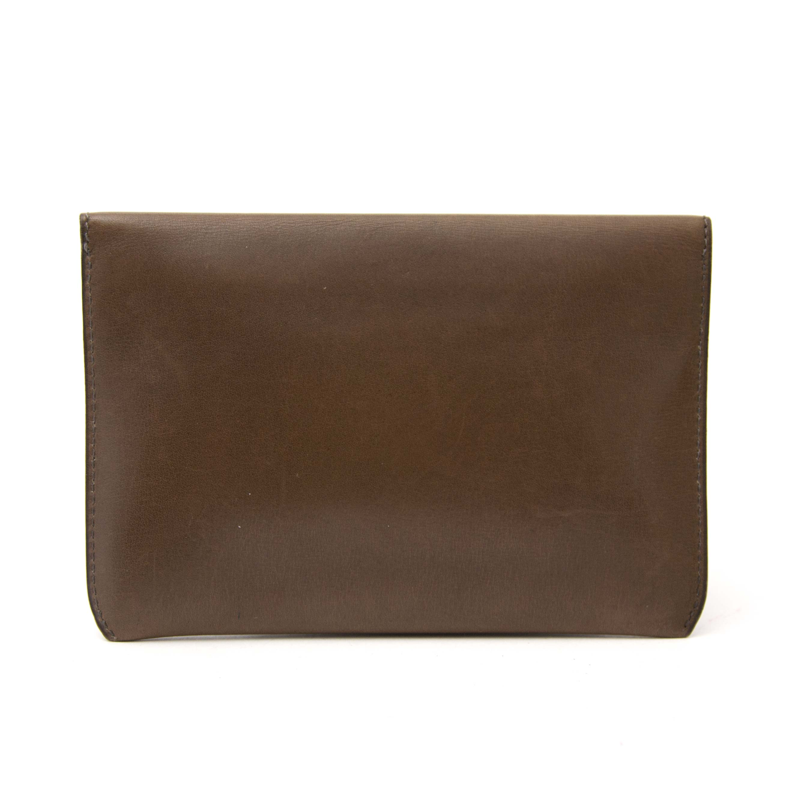 delvaux taupe wallet now online at labellov.com for the best price