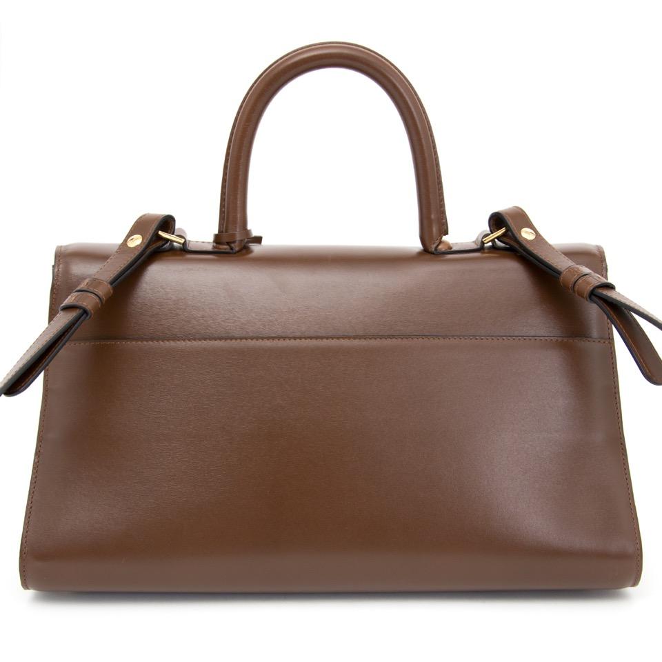 koop veilig online aan de beste prijs Delvaux Brillant Pecari  in perfecte staat online webshop labellov.com