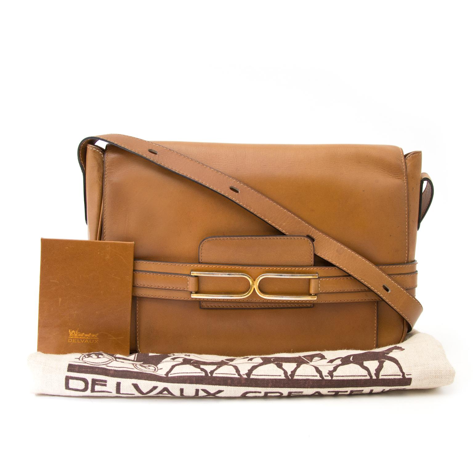 Bent u opzoek naar een Delvaux Camel Bourgogne Bag?