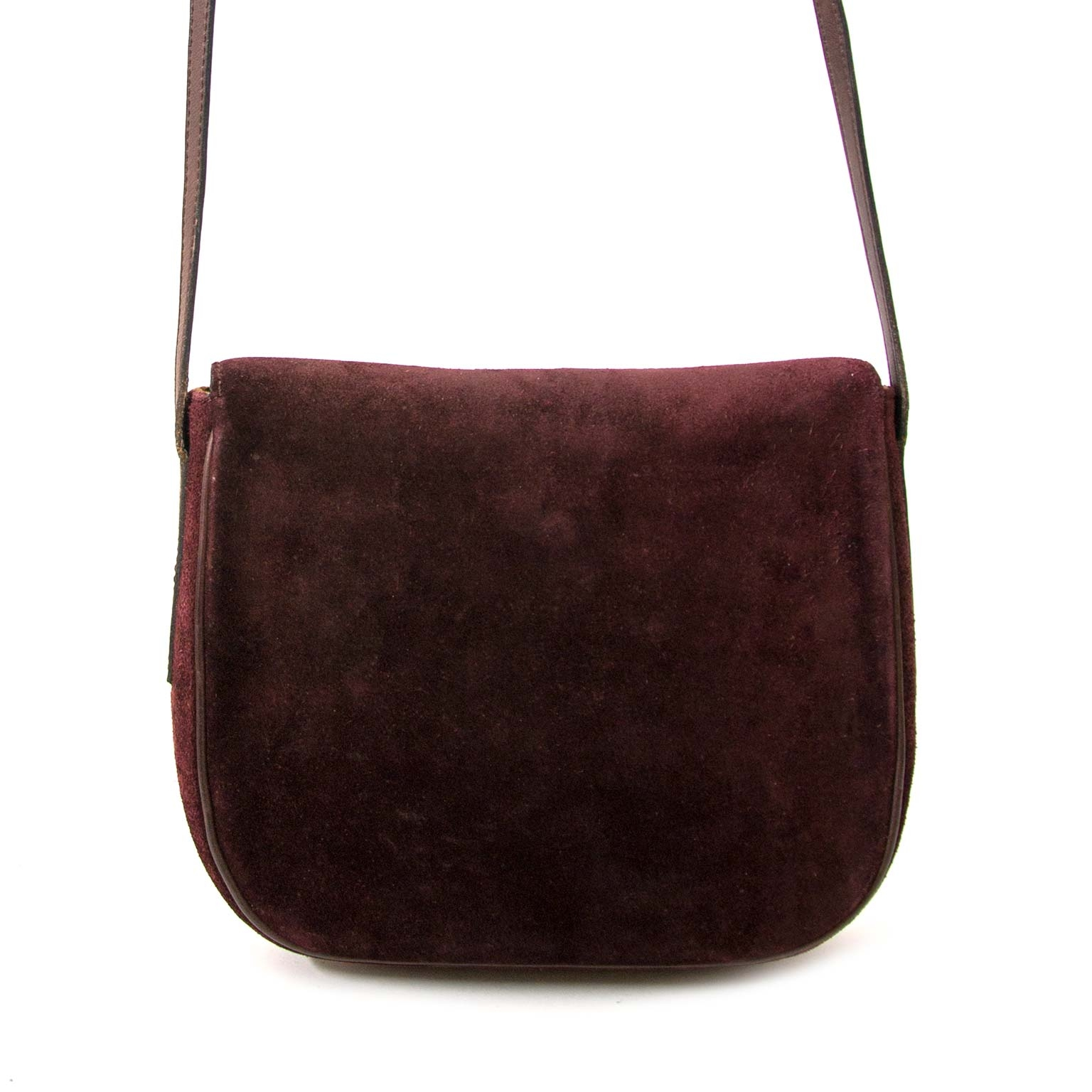 Delvaux Suede Cross Body Bag for sale online