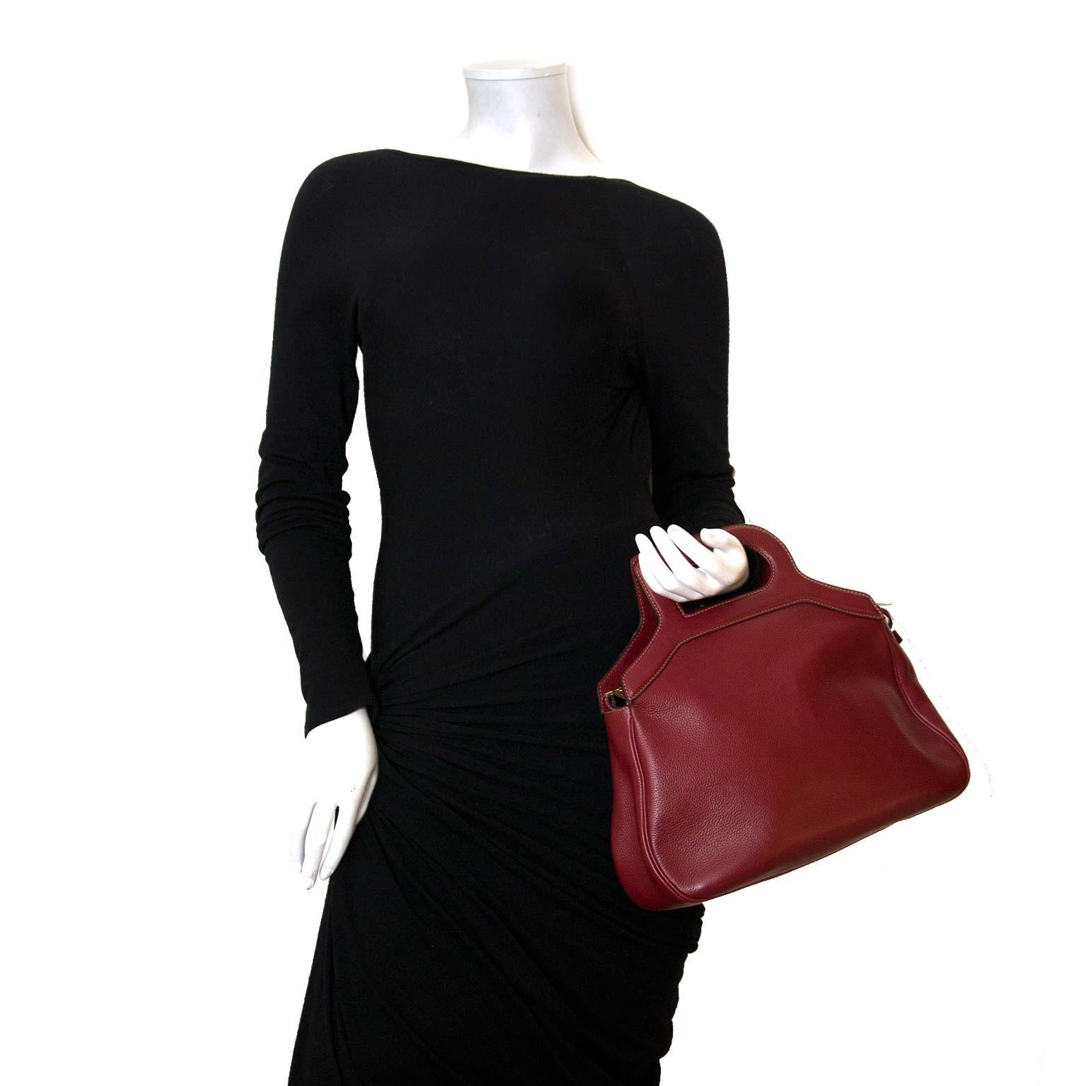 Koop authentieke delvaux d top handle tassen nu online bij labellov vintage mode webshop
