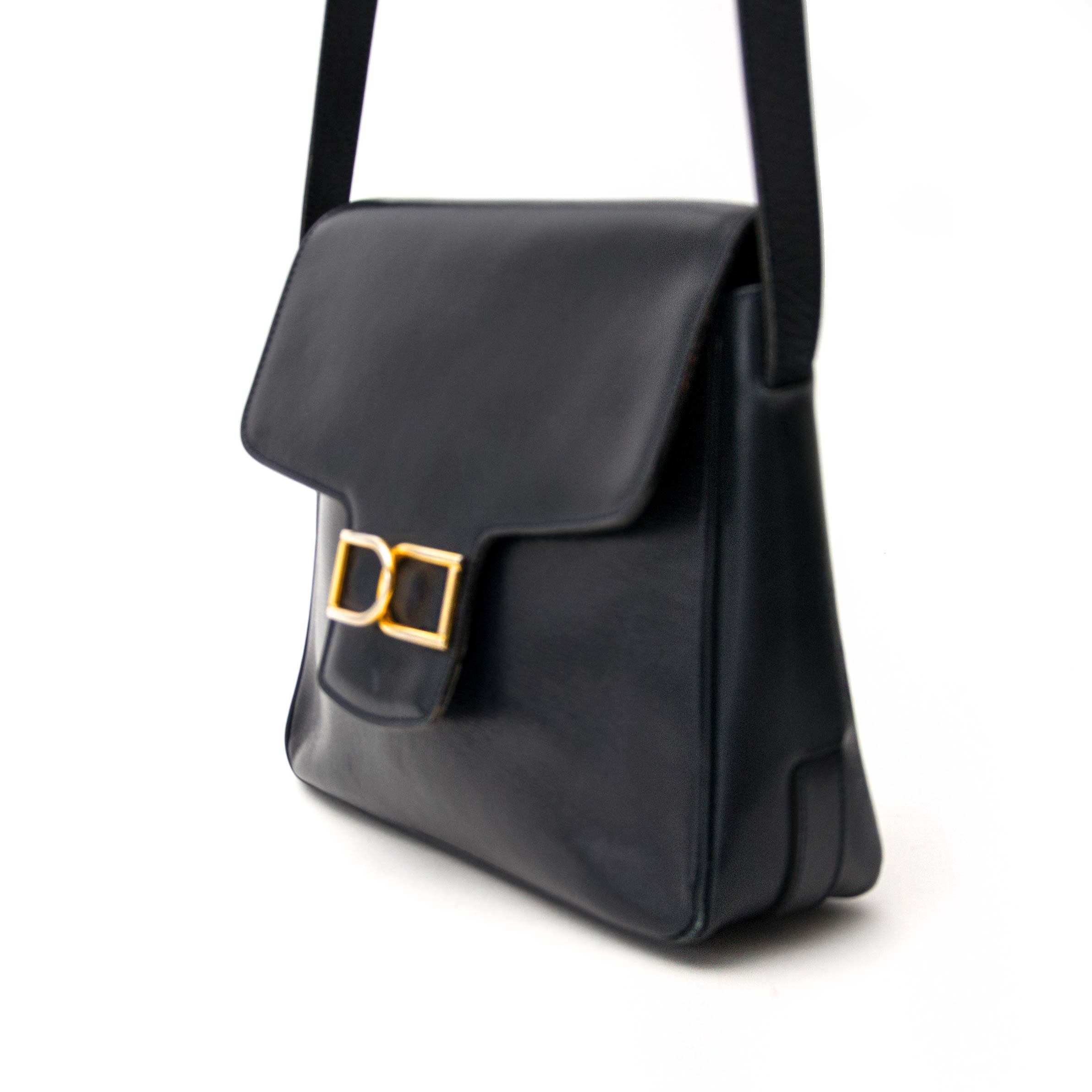 searching for belgium Delvaux Dark Blue Shoulder Bag  online? antwerp belgium