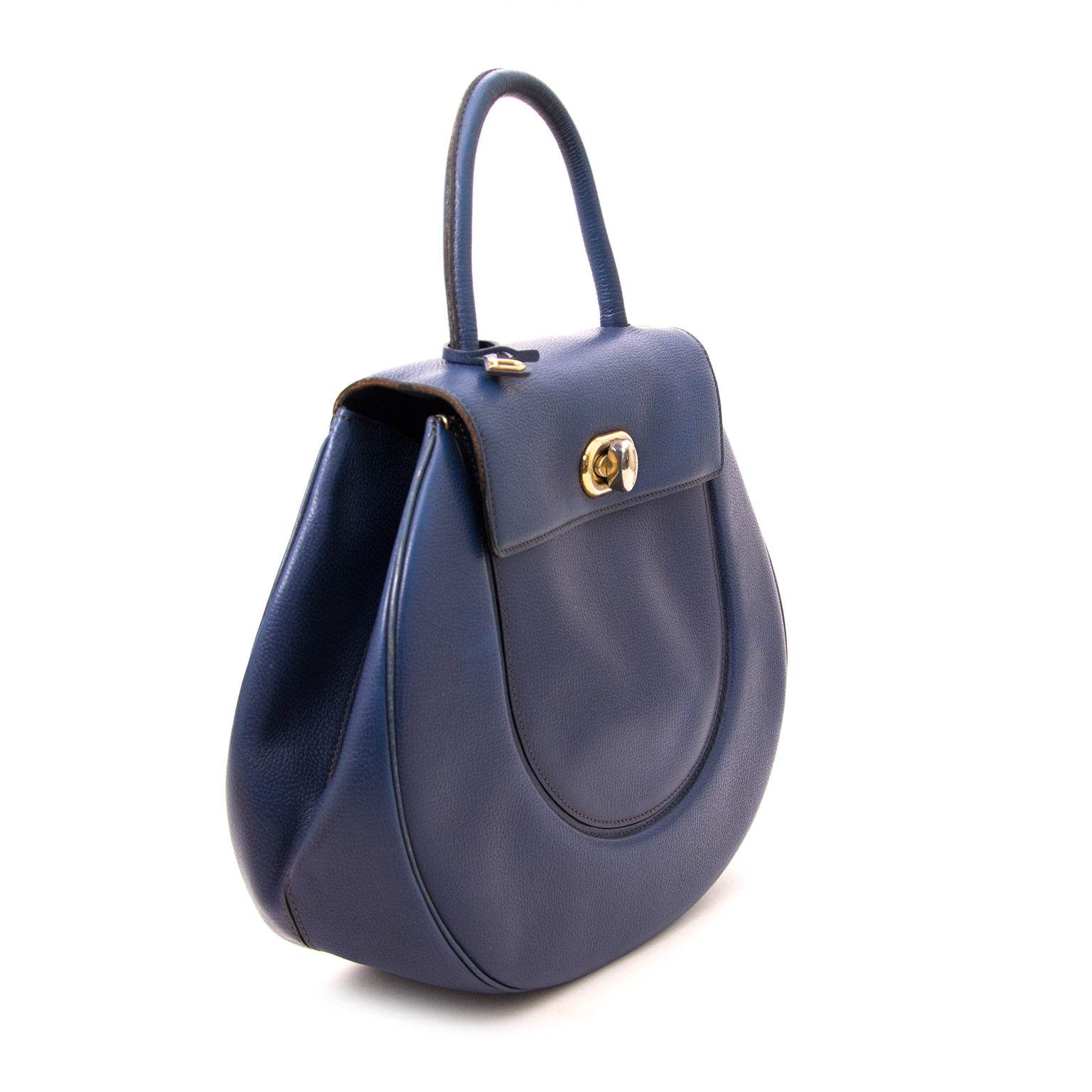 Delvaux Extase Galop Blue now online at labellov.com for the best price