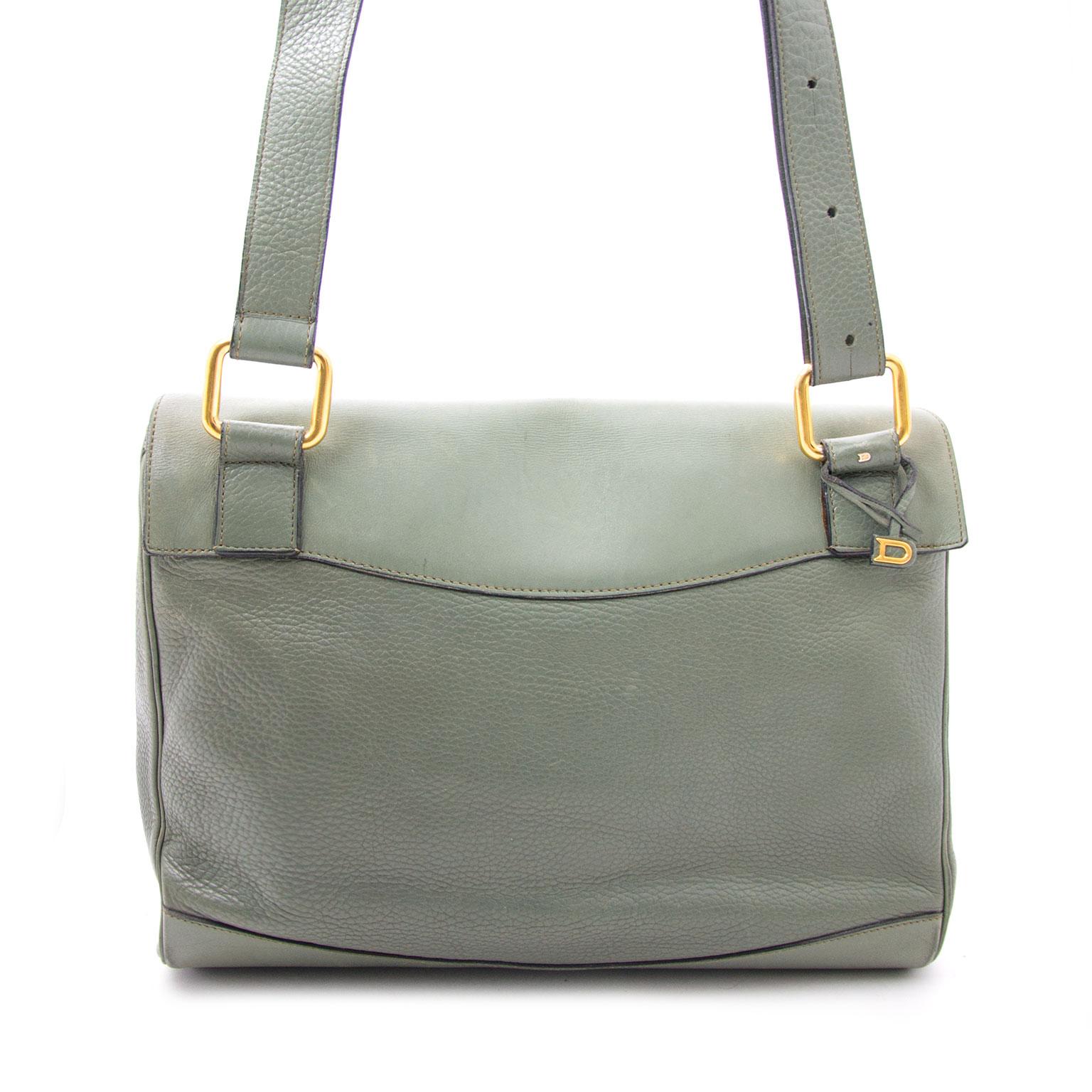 Pistache Delvaux Satchel Bag available on the Labellov webshop