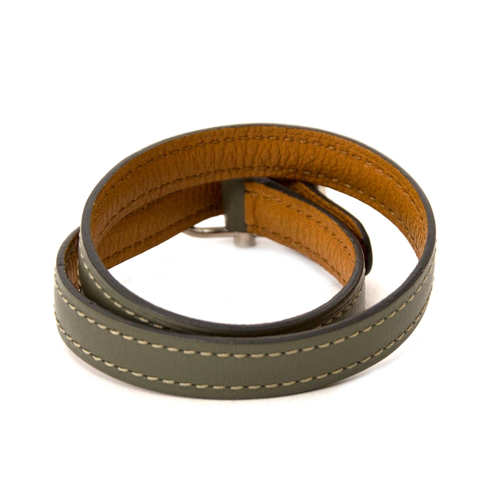 Koop delvaux doubletour armbanden bij labellov vintage mode webshop