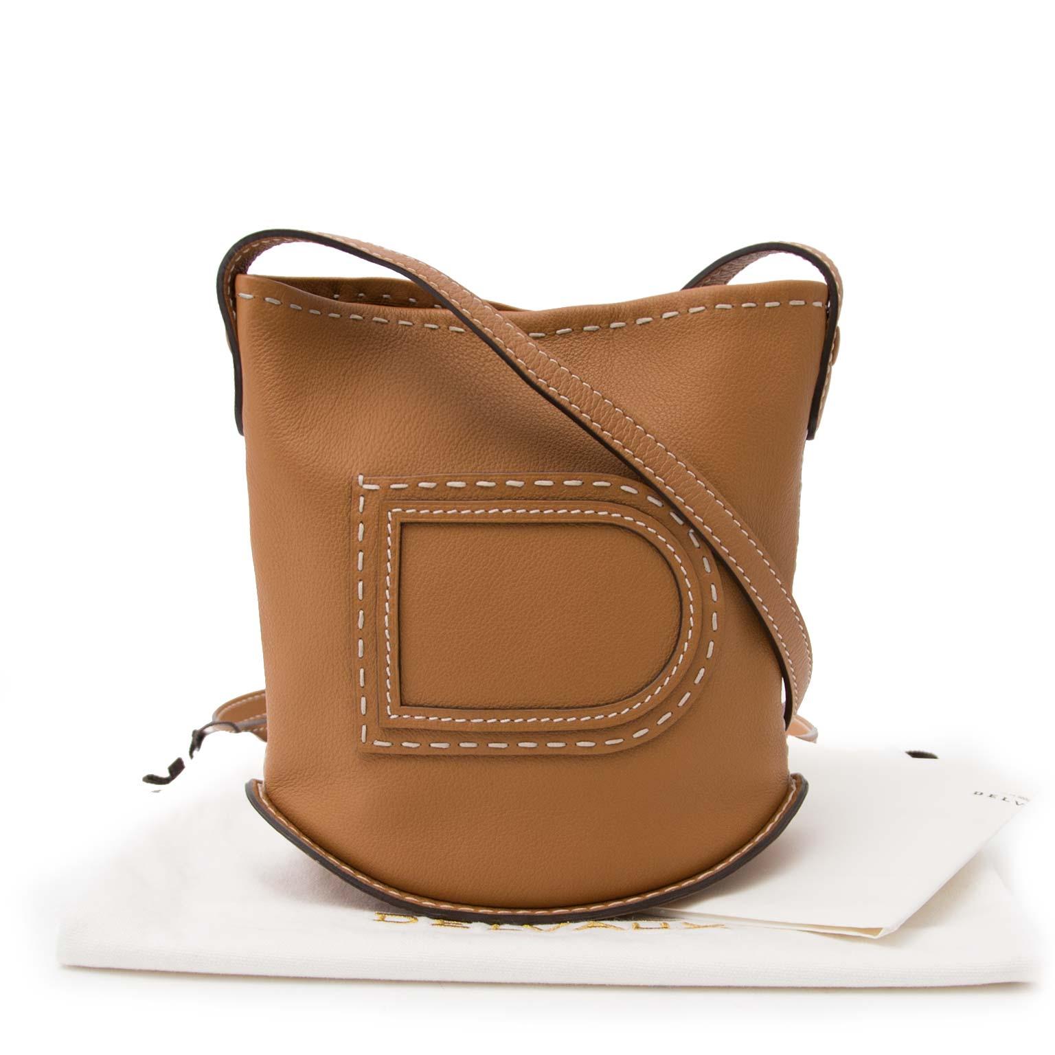 shop safe online your secondhand Delvaux Le Pin Mini Stitched