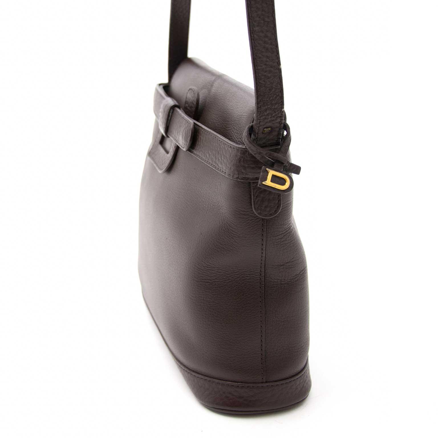 Bent u op zoek naar een Delvaux Brown Leather Shoulder Bag?