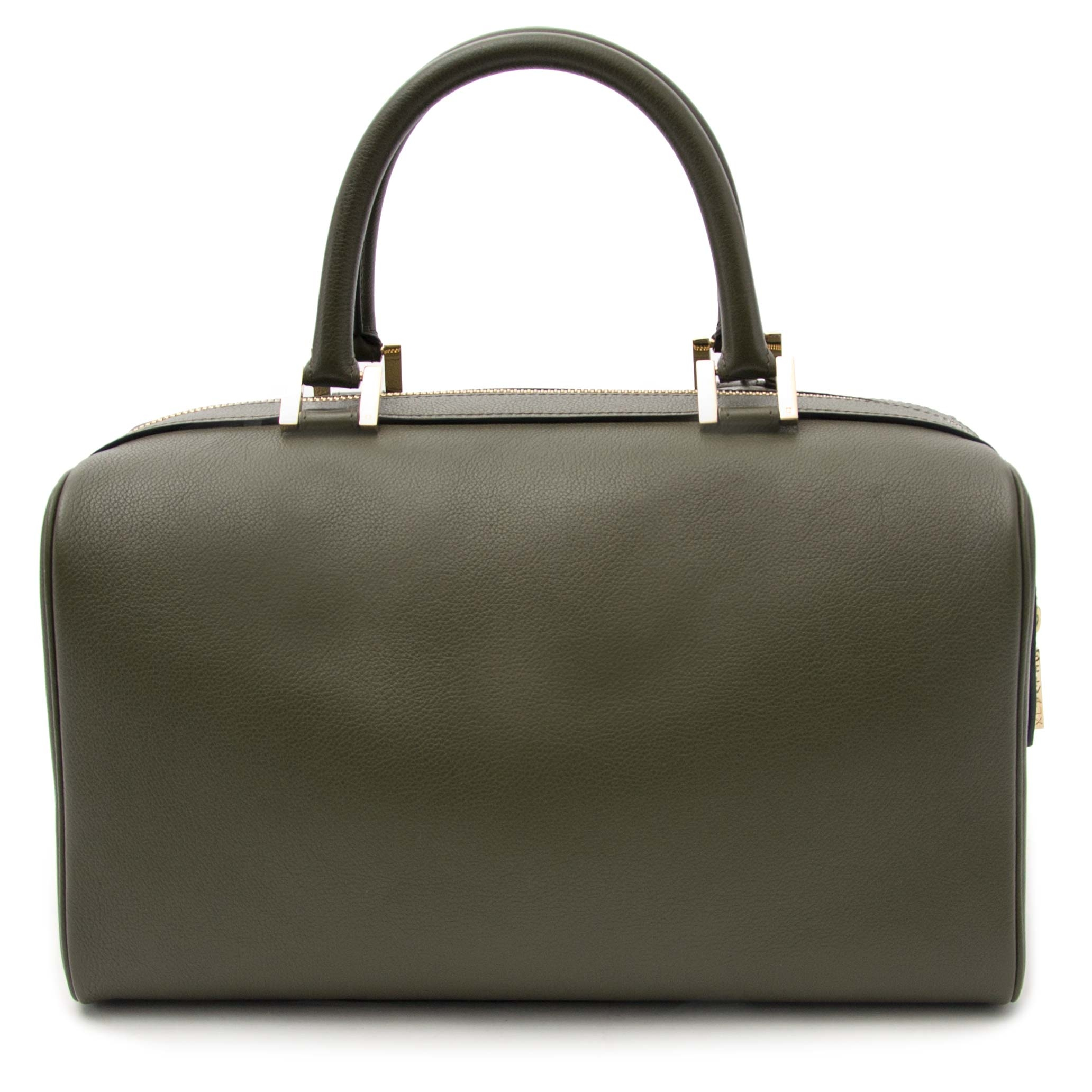 Buy your authentic Delvaux Louise Boston Allure PM Olive Green for the best  price at Labellov b55efcd7875f2