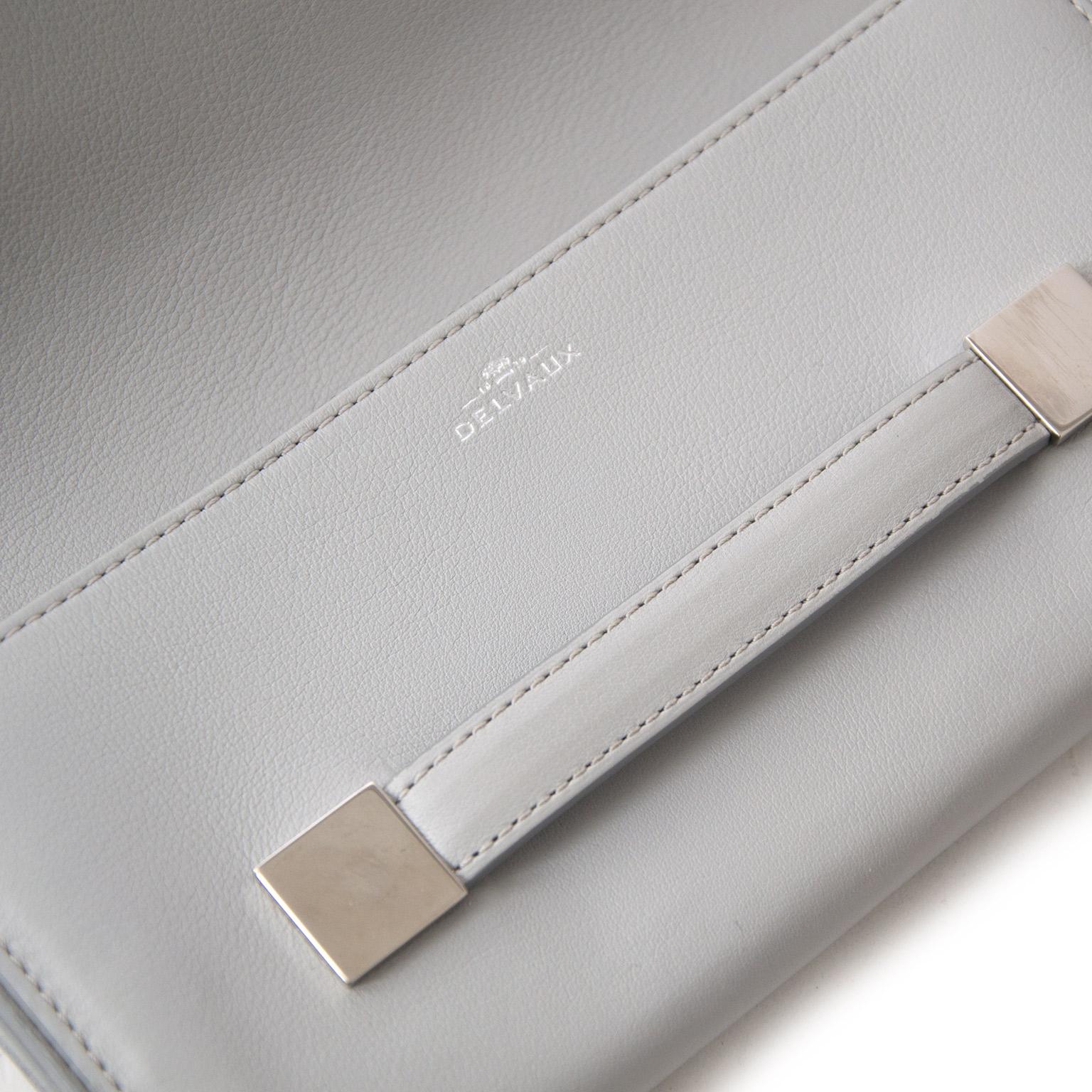 acheter en ligne pour le meilleur prix sac a main Delvaux Ardoise Perfecto Shoulder Bag