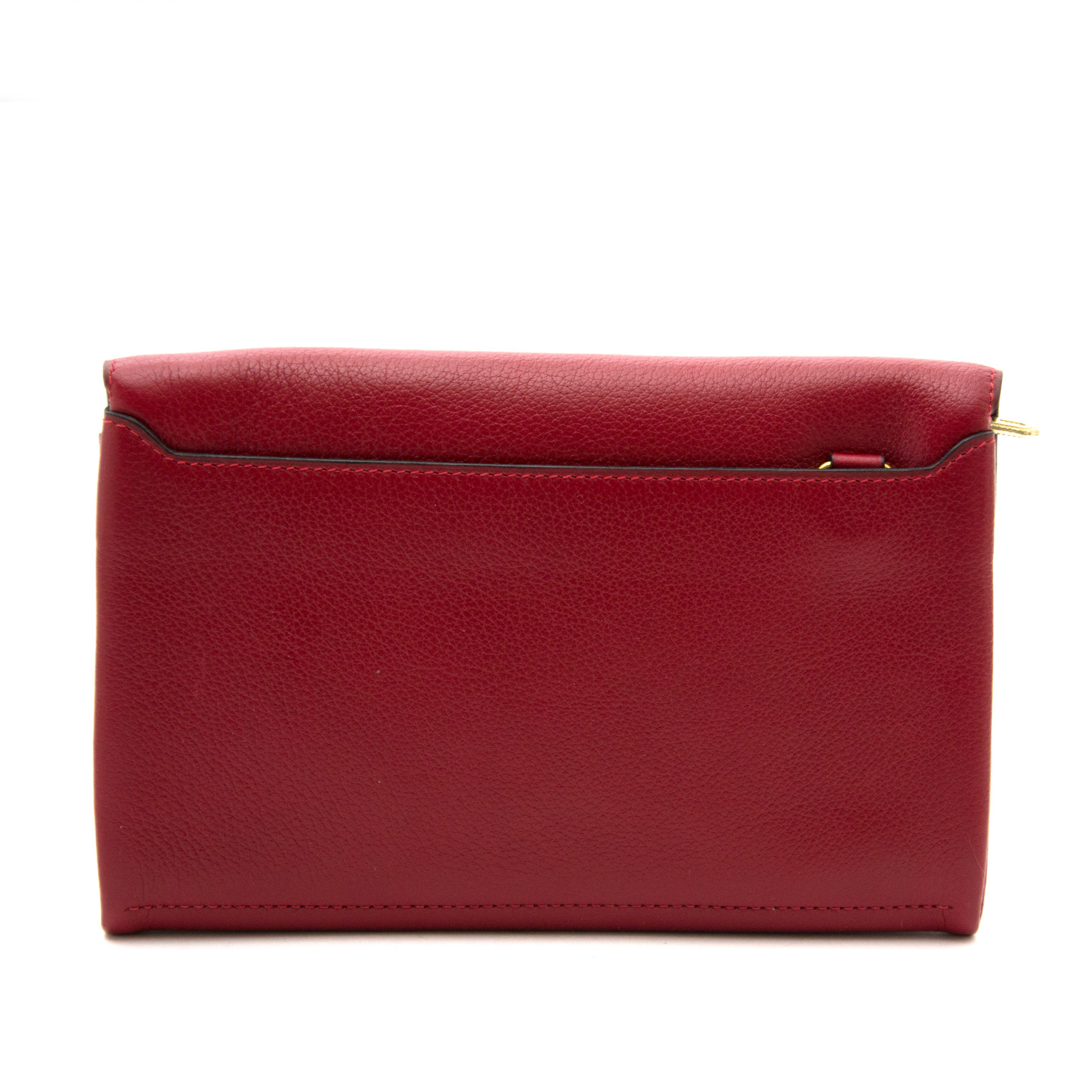 Buy safe and secure online at labellov.com delvaux Red Wallet 100% authentic