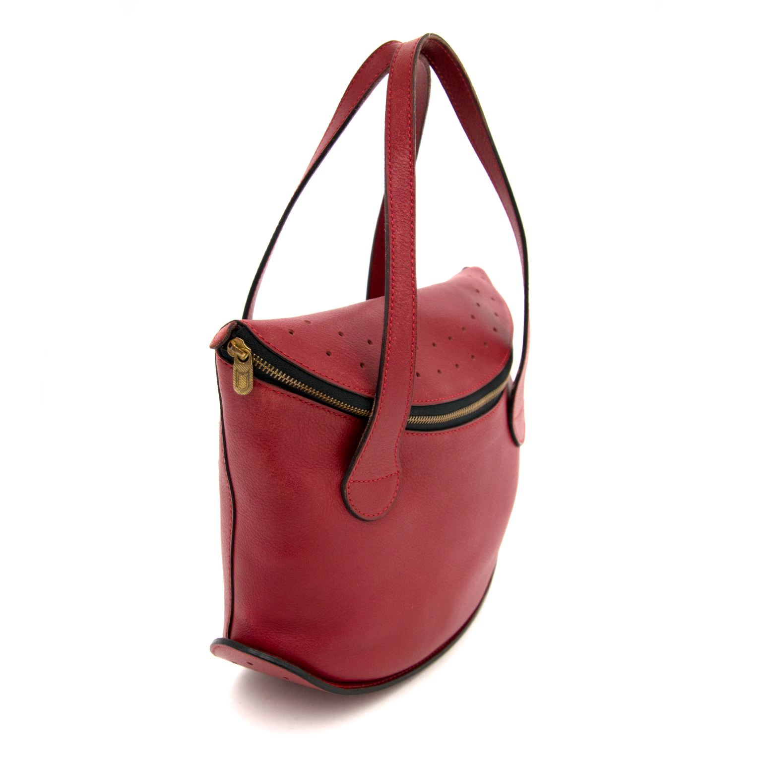 Buy and sell your Delvaux Modele Depose Deep Red  Bag for the best price