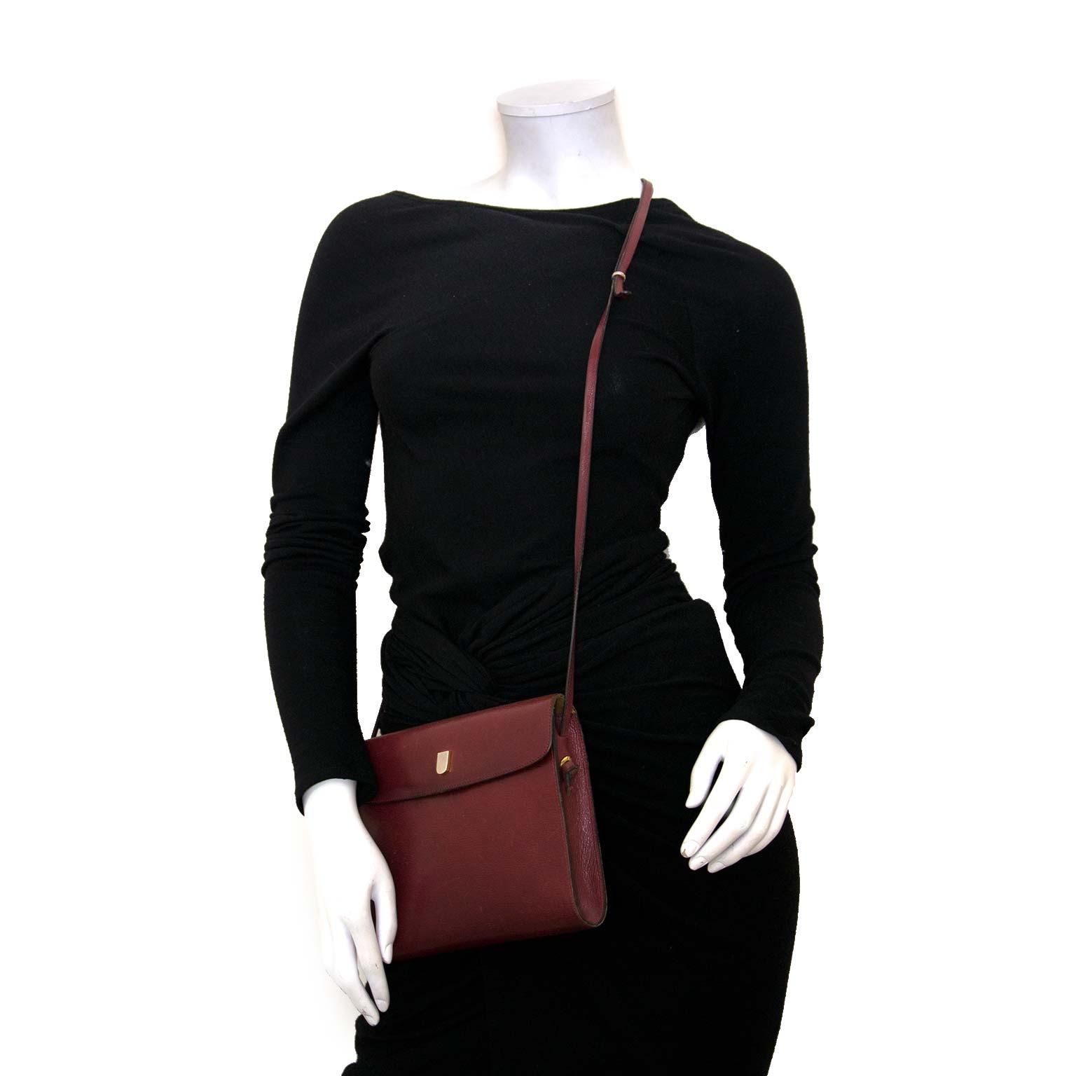 acheter en ligne pour le meilleur prix Delvaux Vintage Bordeaux Cross Body Bag