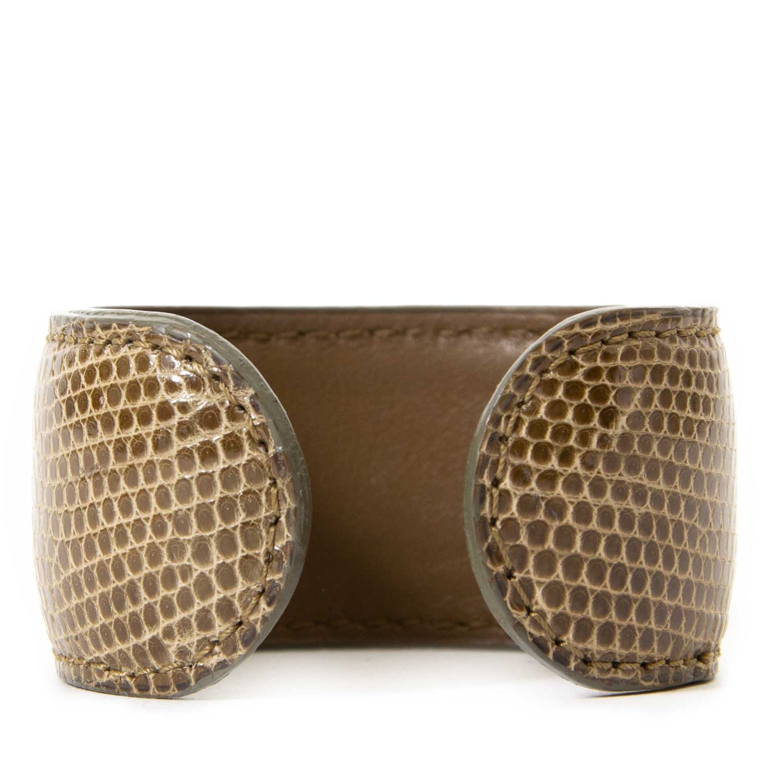 buy  Delvaux Manchette Boheme GM Lezard Bracelet at labellov