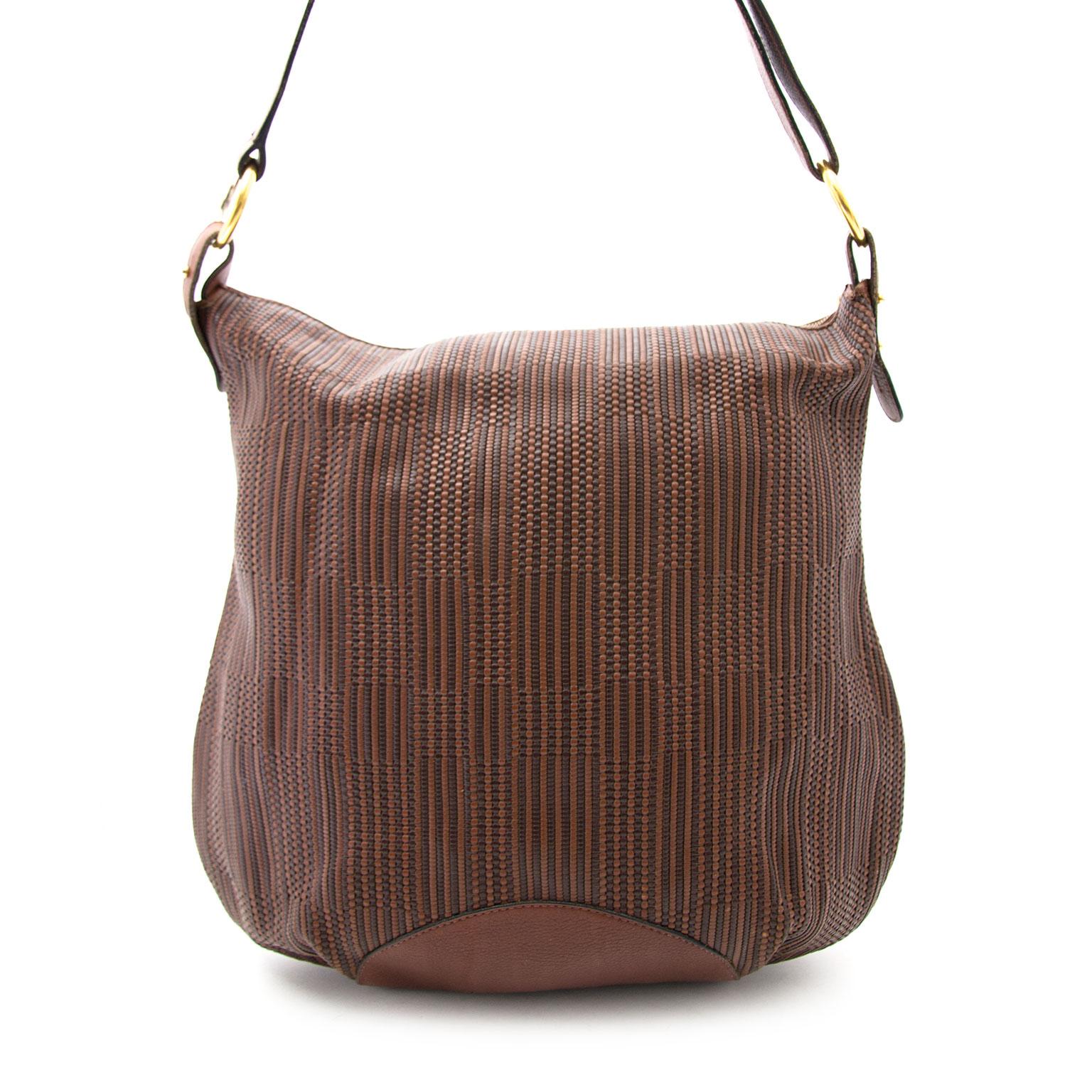 Acheter secur en ligne votre sac a mains en cuir strenesse de Delvaux pour le meileur prix