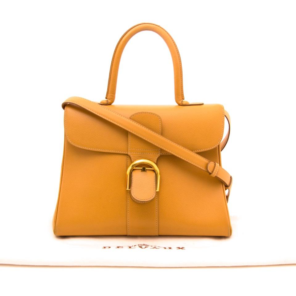 Labellov Buy Safe Delvaux Designer Vintage Online Vind Tweedehands Kaos Dior Shop Secondhand Ochre Brillant Mm Strap Worldwide Shipping