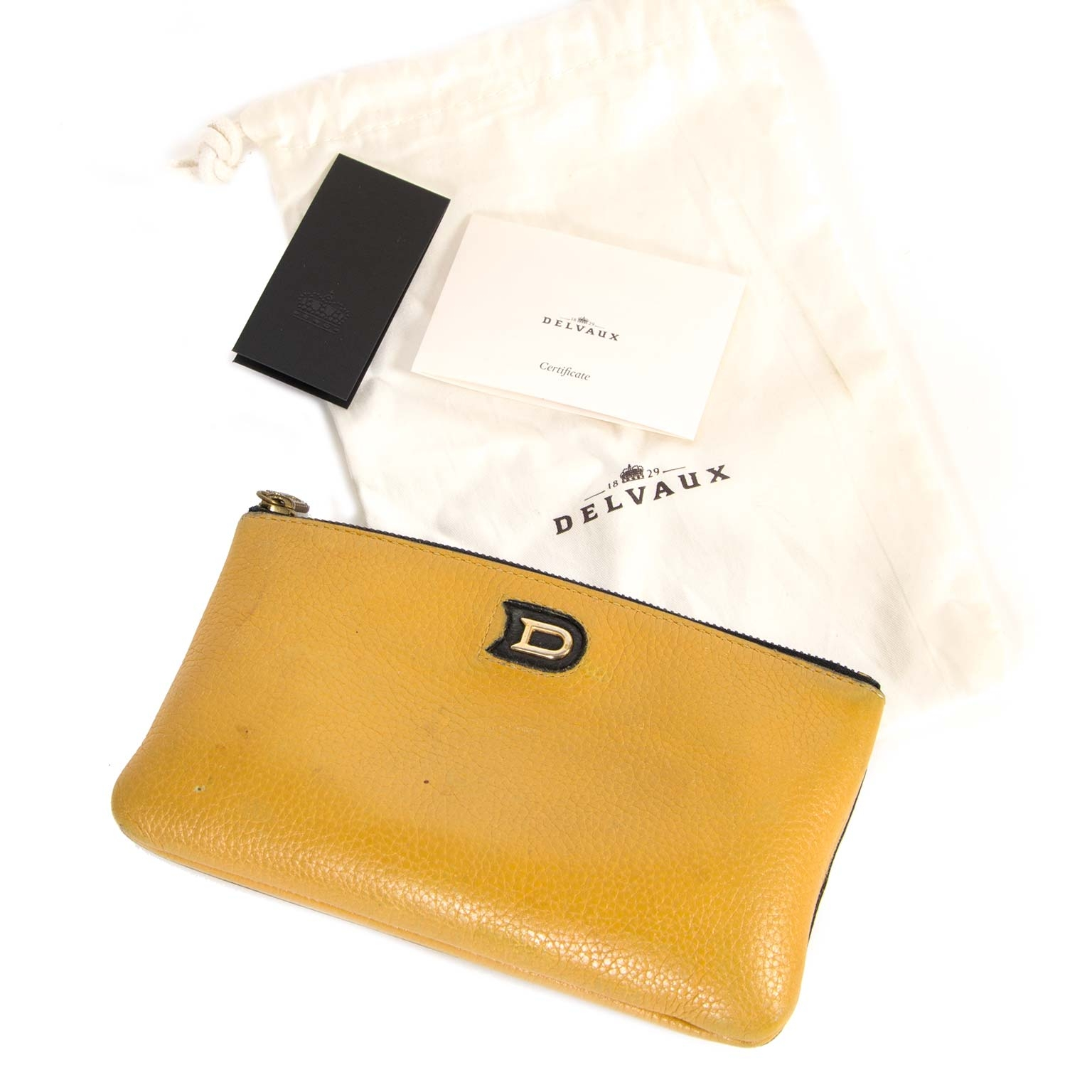 Delvaux Louise Multifunction Paddock Taupe Pochette now for sale at labellov vintage fashion webshop belgium