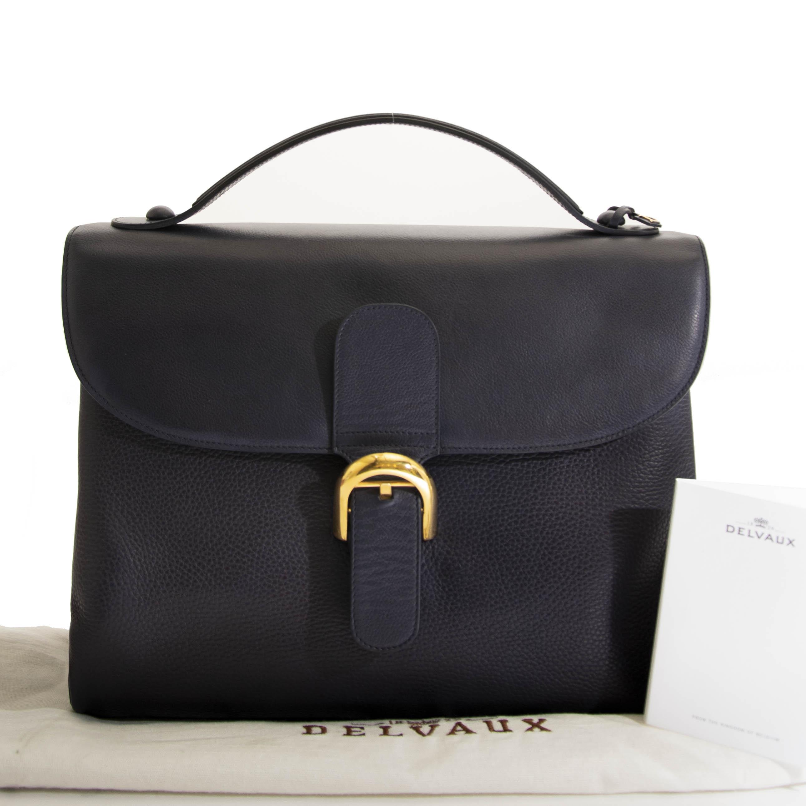 Delvaux Assemmblée Brillant Briefcase