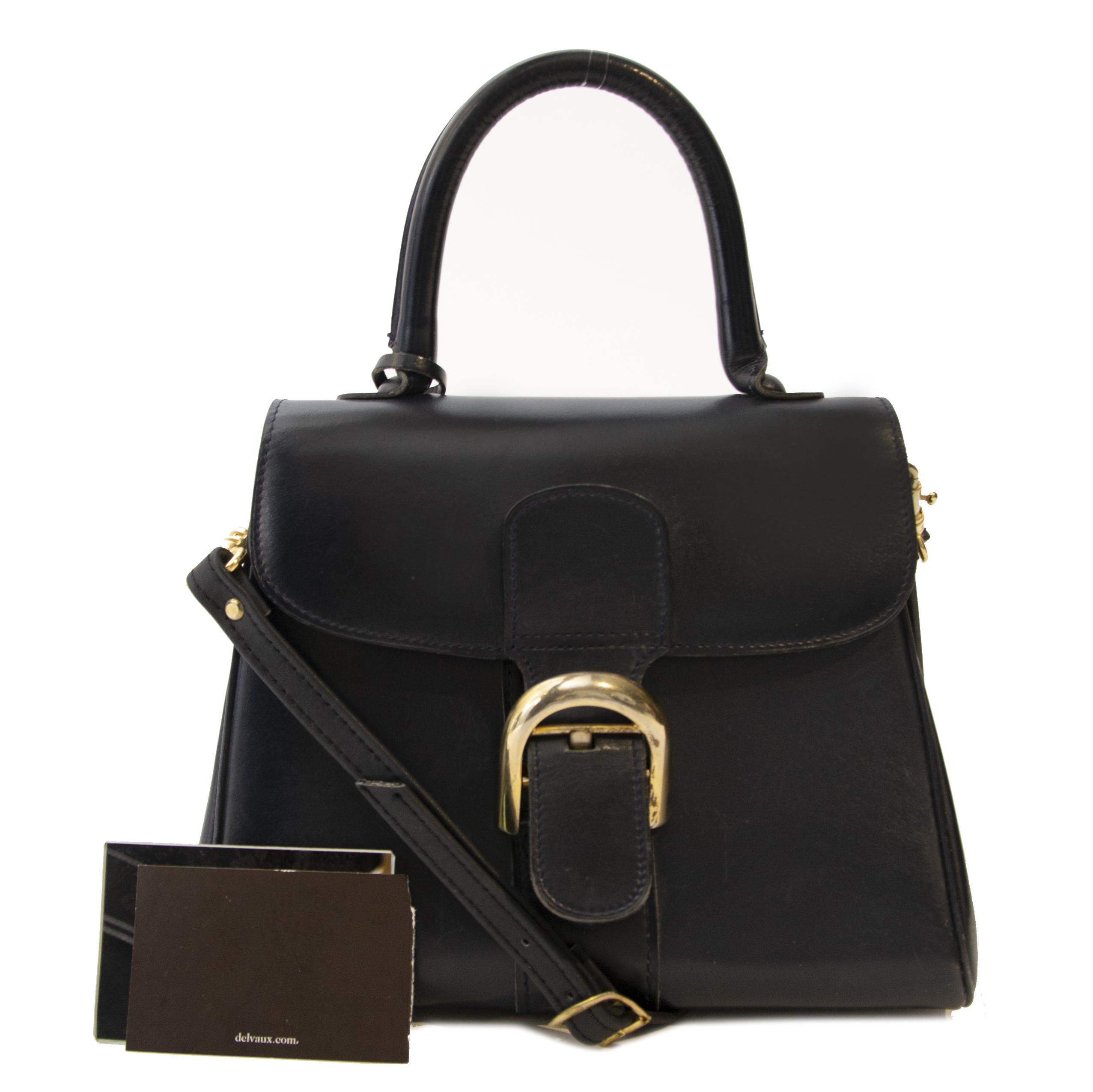 Koop en verkoop uw authentieke designer handtassen en accessoires van Delvaux aan de beste prijs
