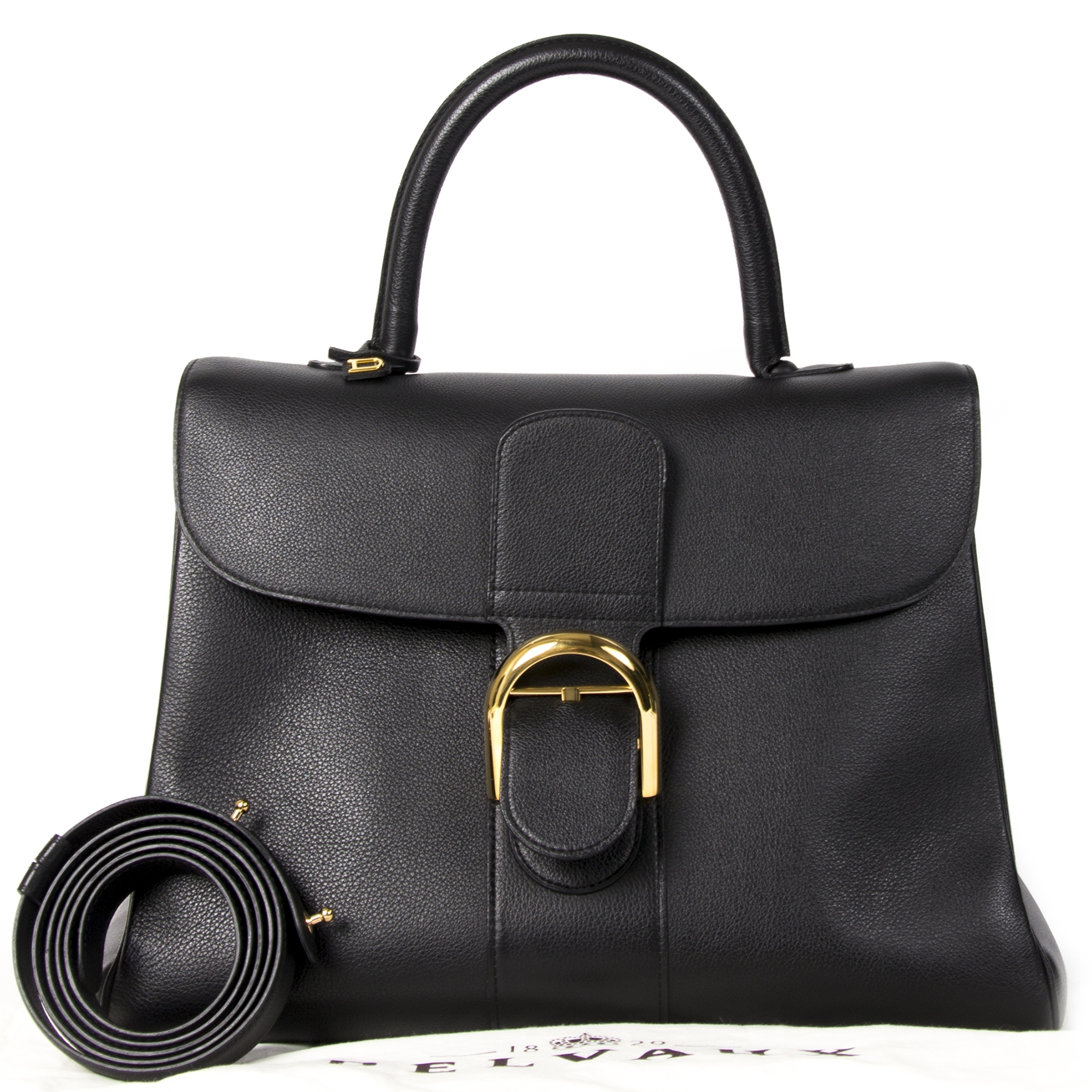 Delvaux Black Brillant GM