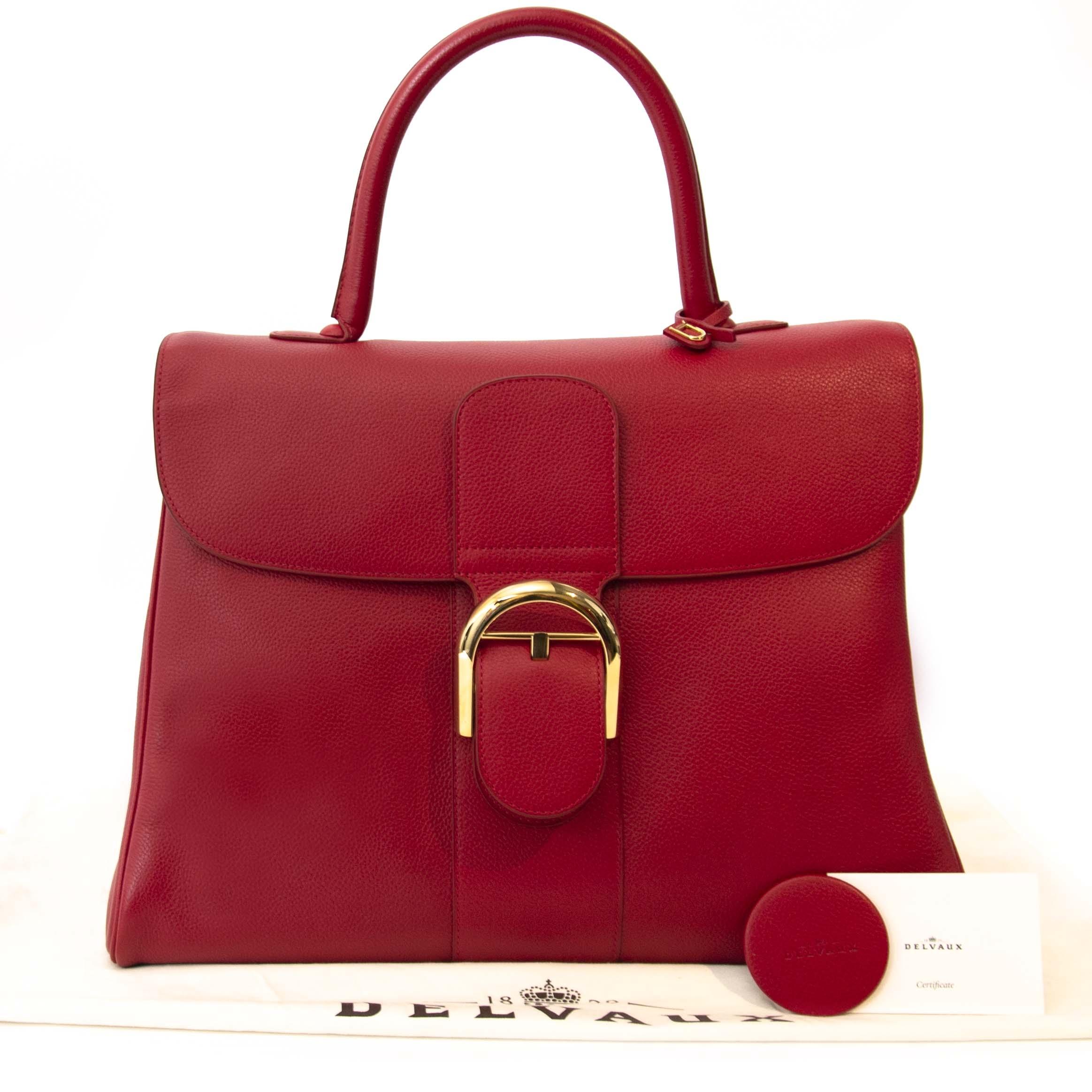 Delvaux GM Brillant Red