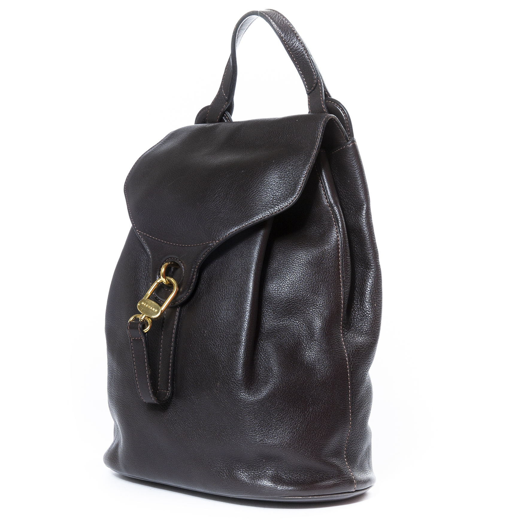 Delvaux Brown Backpack