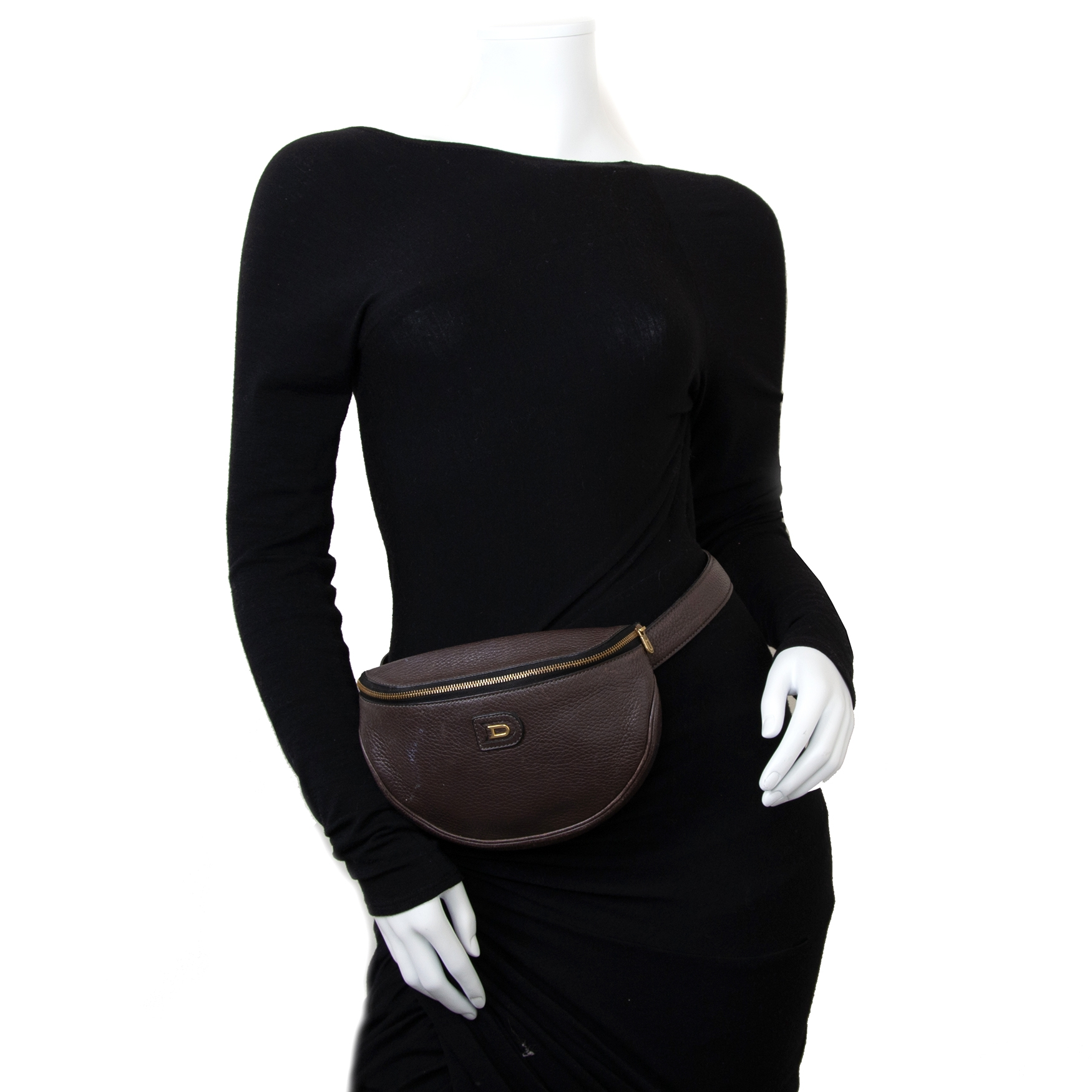 Achetez secur en ligne votre sac a mains Brown Leather Belt Bag chez Labellov à Anvers