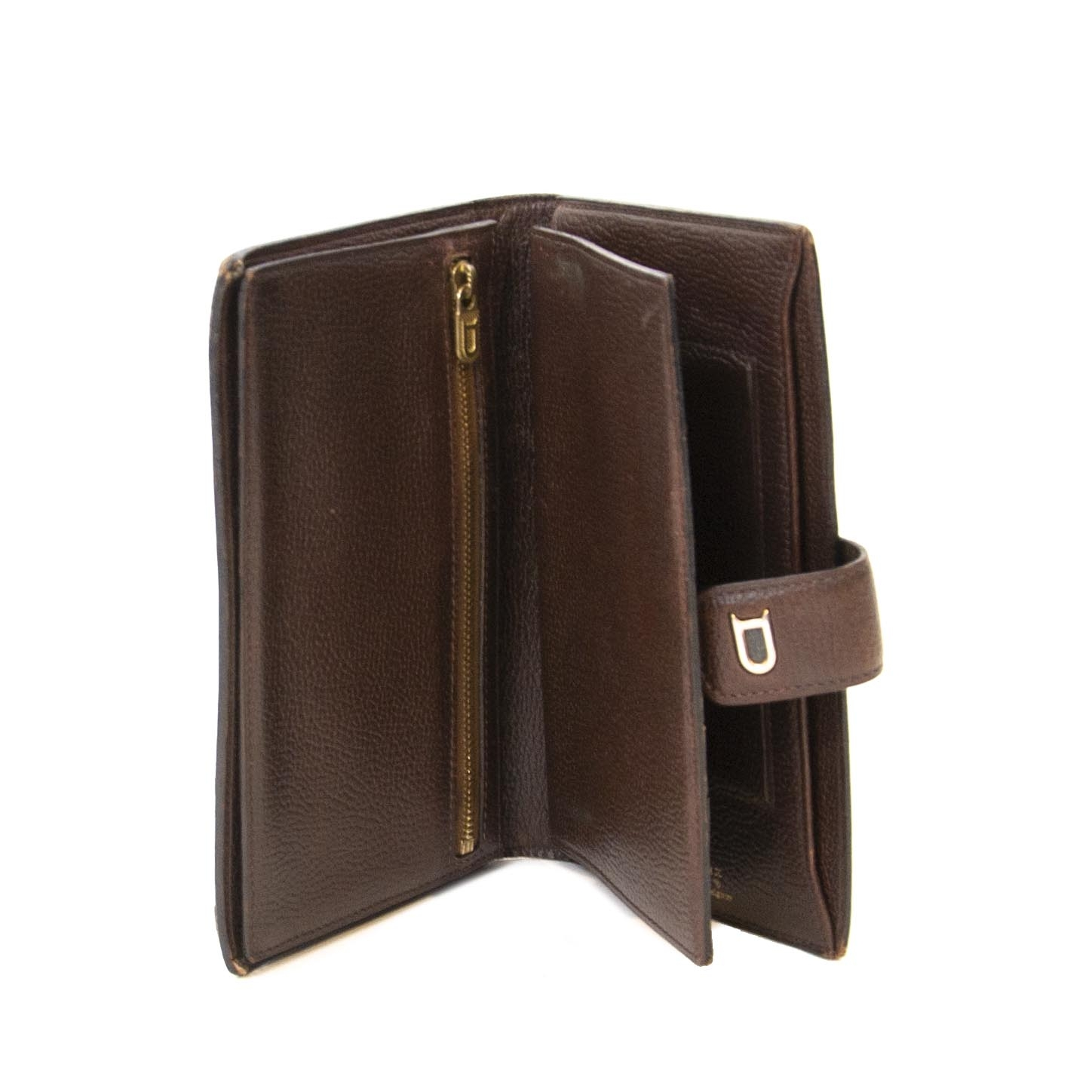 Delvaux Brown Leather Wallet