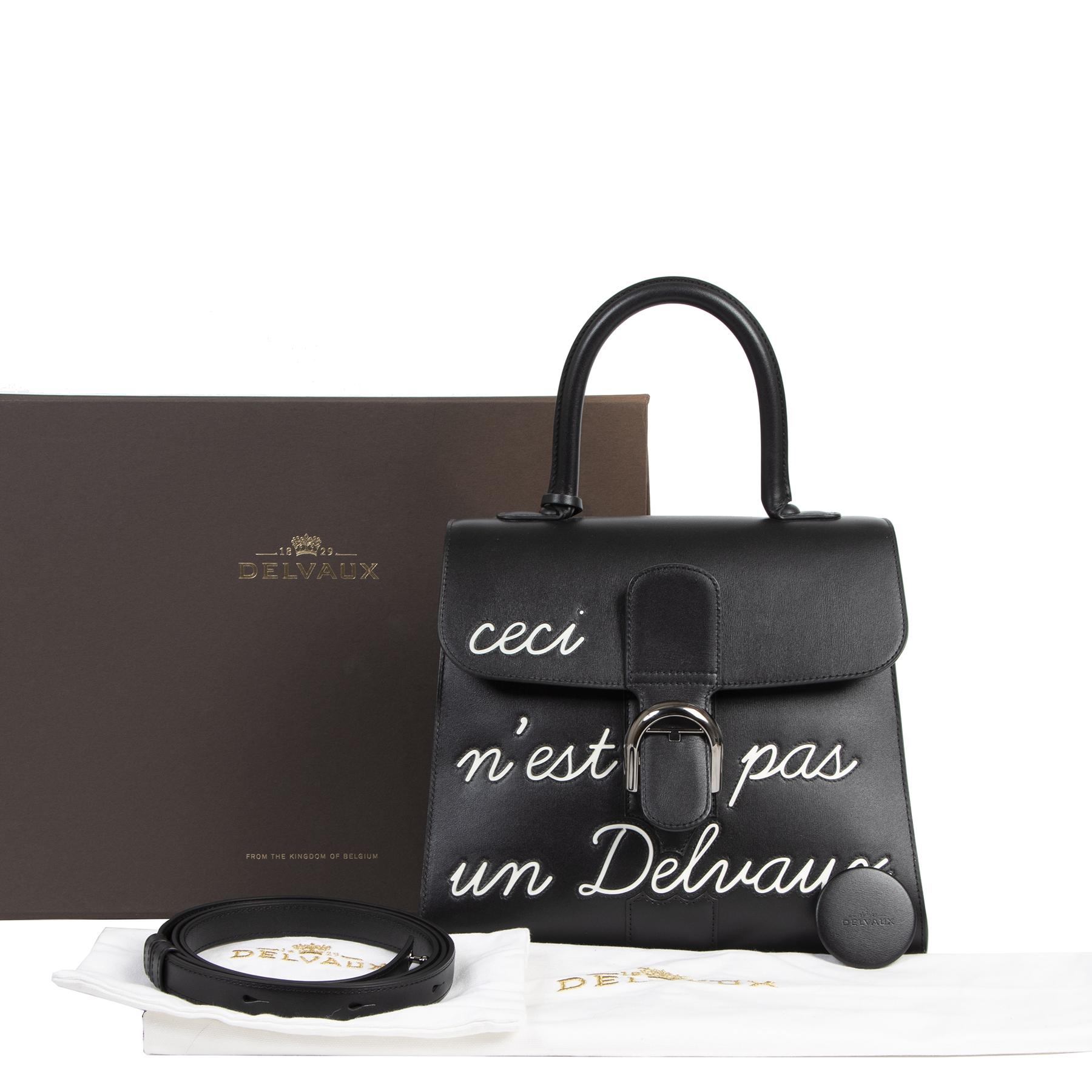 Buy authentic secondhand As New Delvaux L'Humour Brillant MM